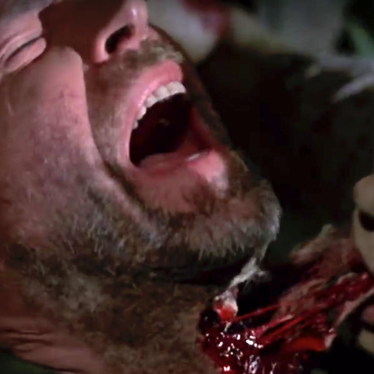 Greg Nicotero in George Romero's Day of the Dead