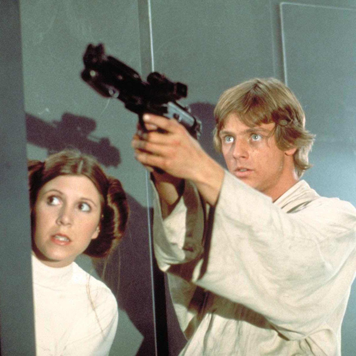 Luke Skywalker and Leia Organa, Star Wars: A New Hope
