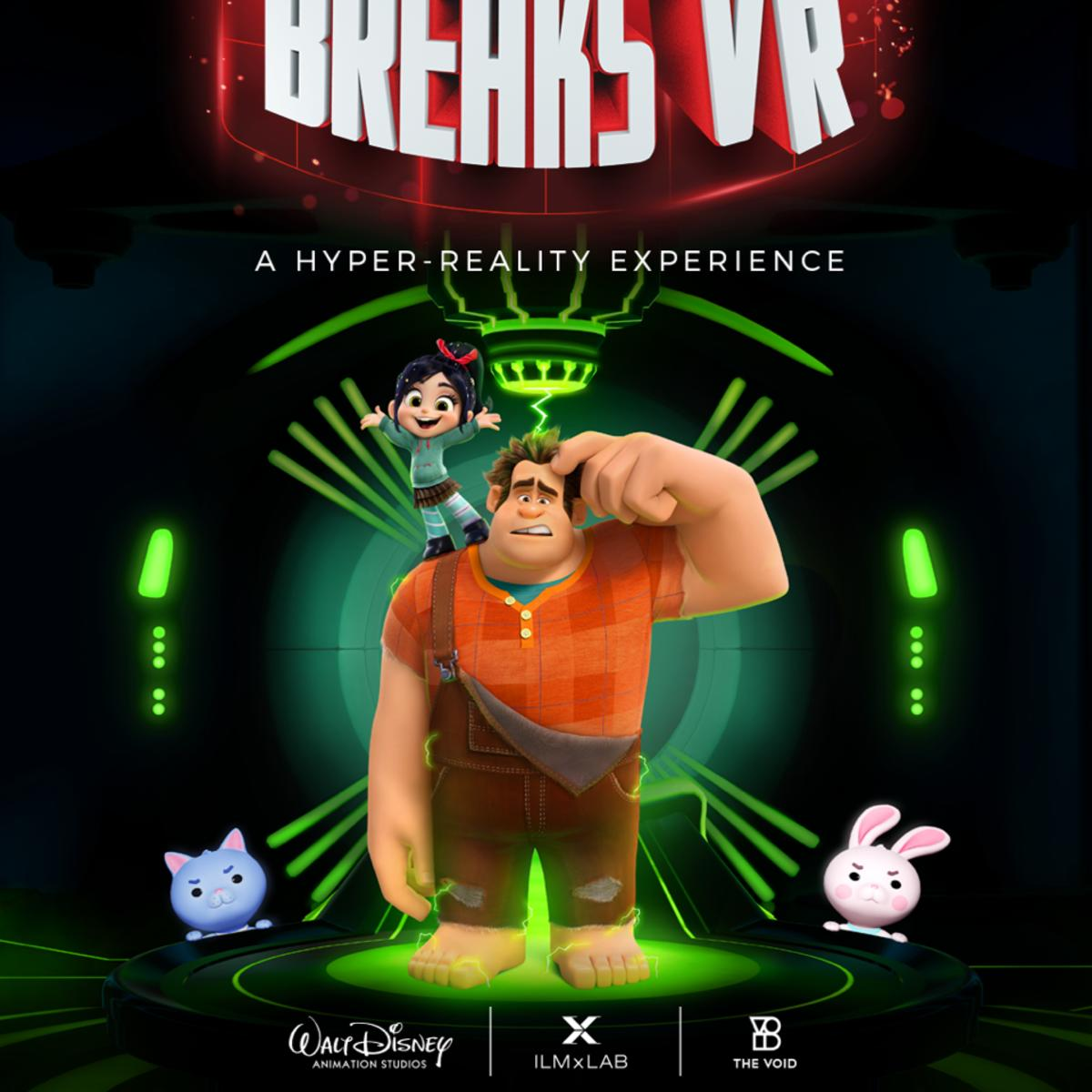 Ralph Breaks VR cover
