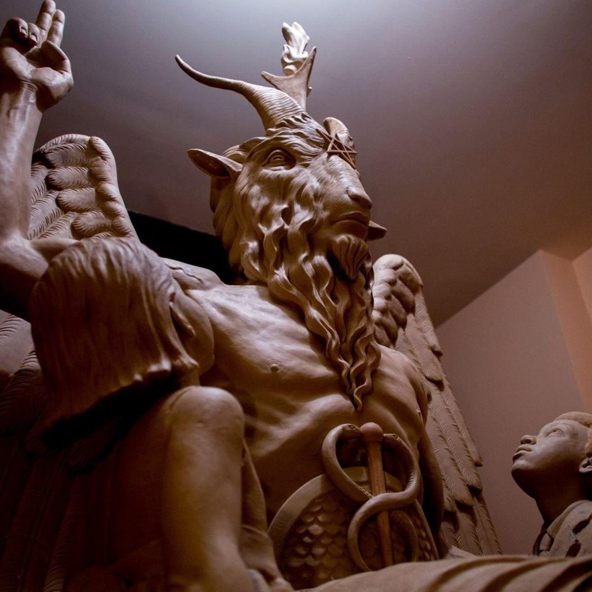 Satanic Temple Baphomet Statue