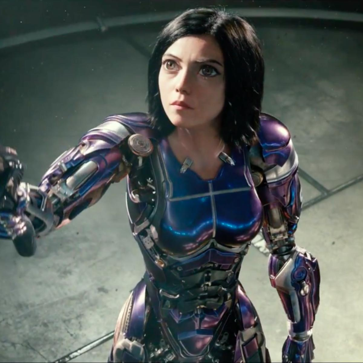 Third Official Trailer for Robert Rodriguez's Sci-Fi 'Alita: Battle Angel'