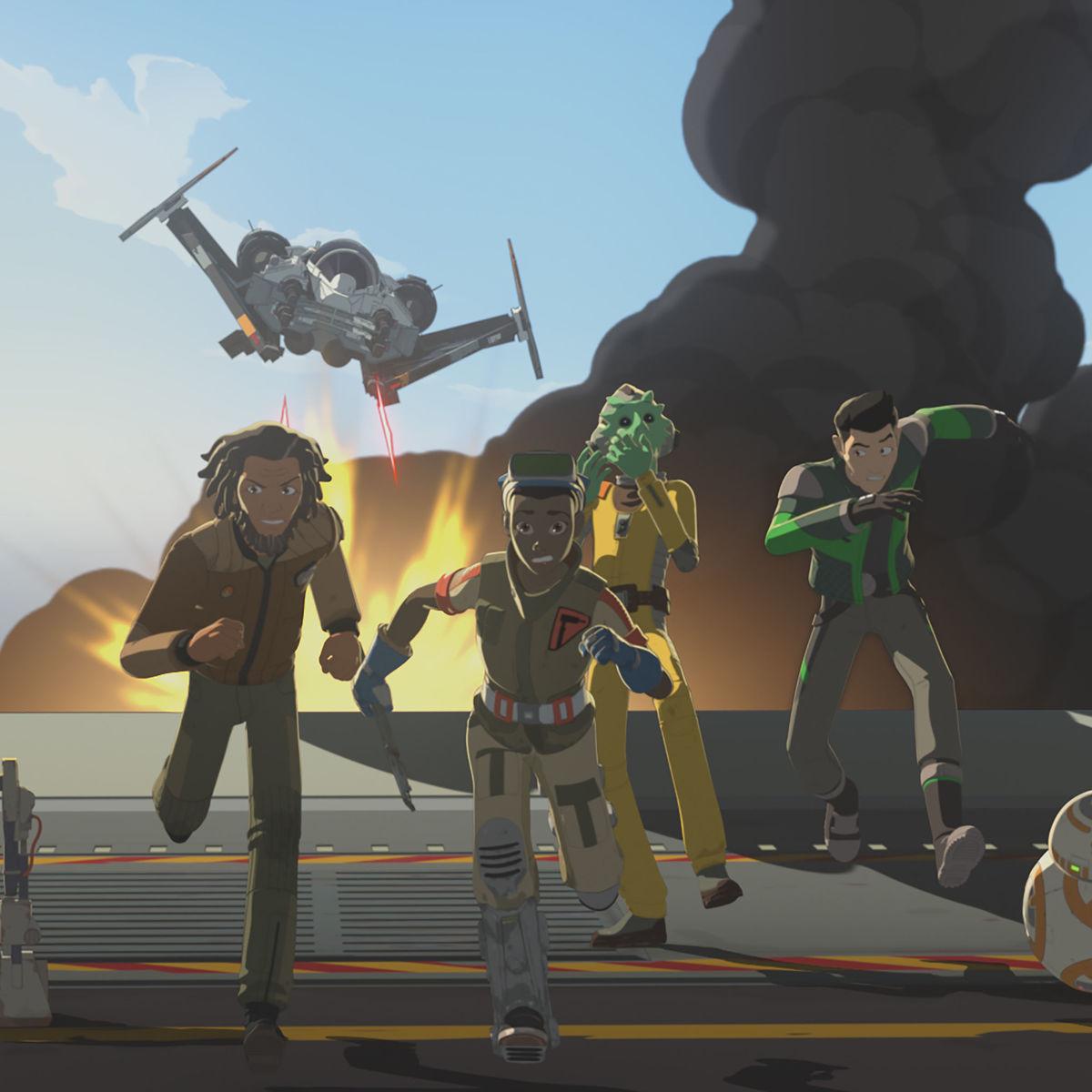 Star Wars Resistance Episode 8 ENSEMBLE