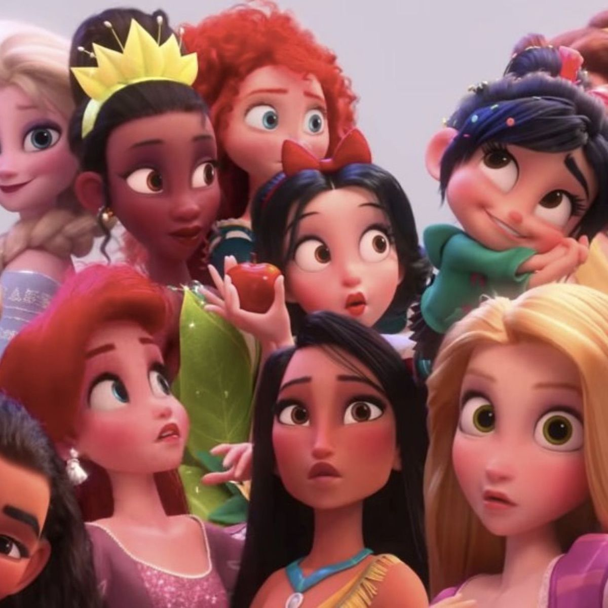 when princesses collide how disney pulled off the impossible in