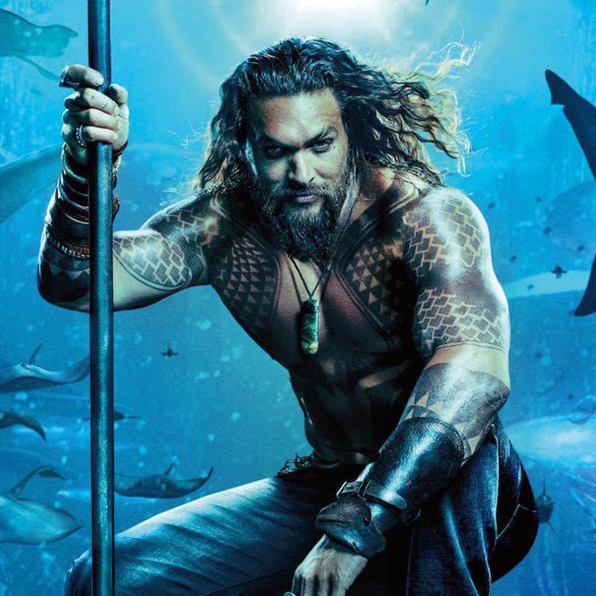 Aquaman 2018 poster close-up