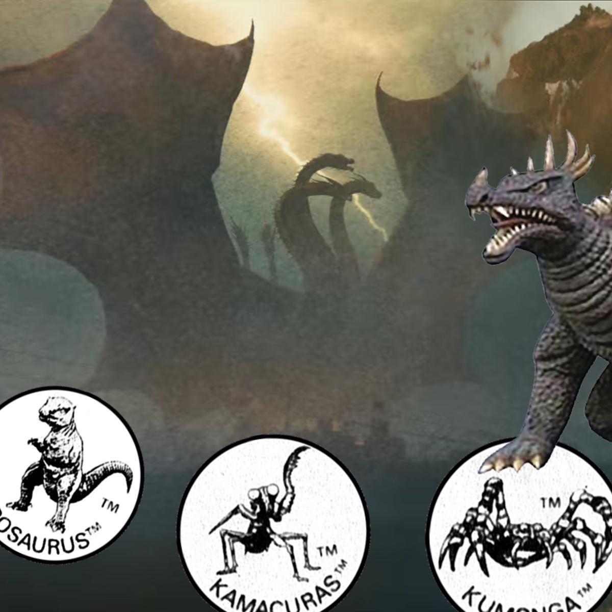 Godzilla New Monsters