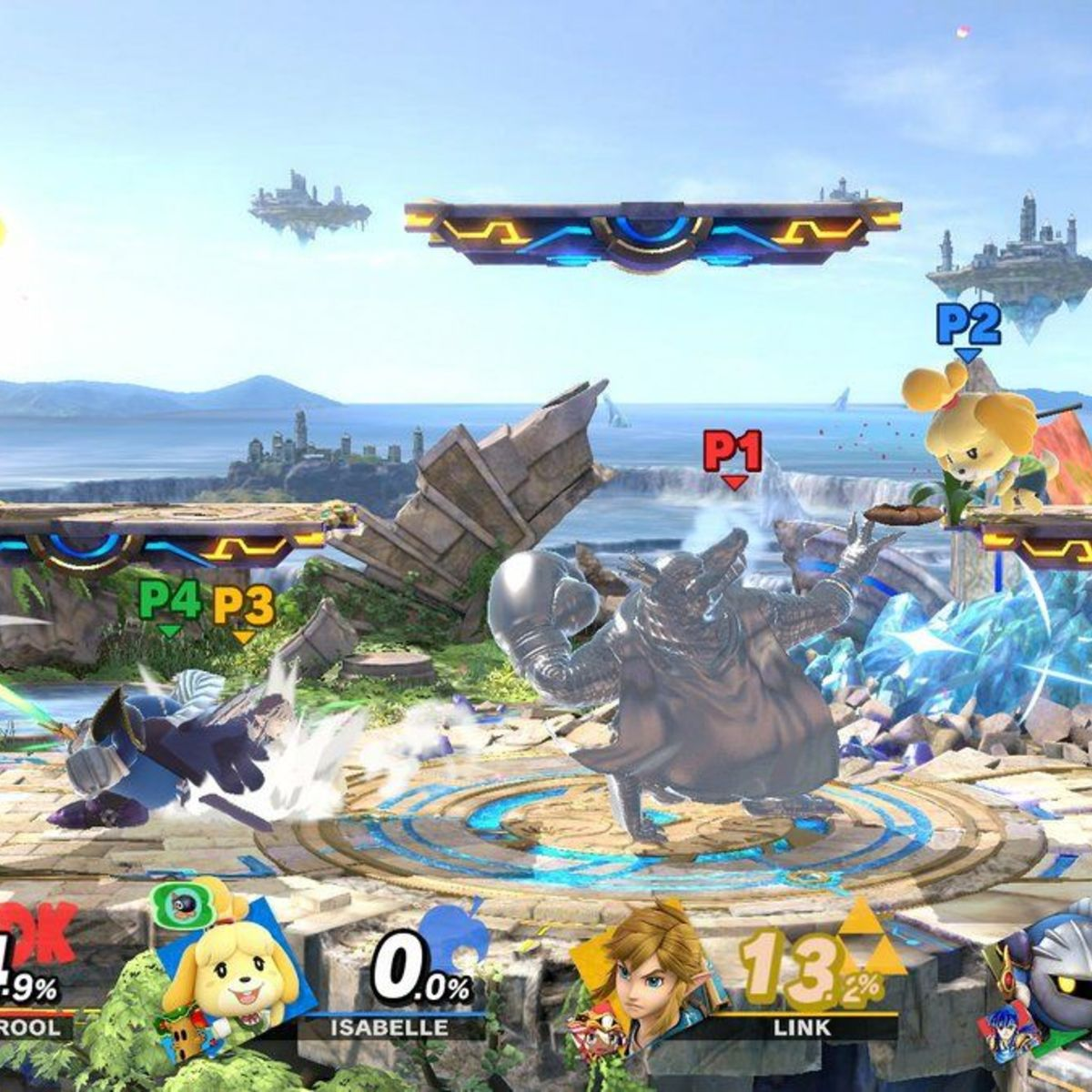 Super Smash Bros. Ultimate - Star Fight