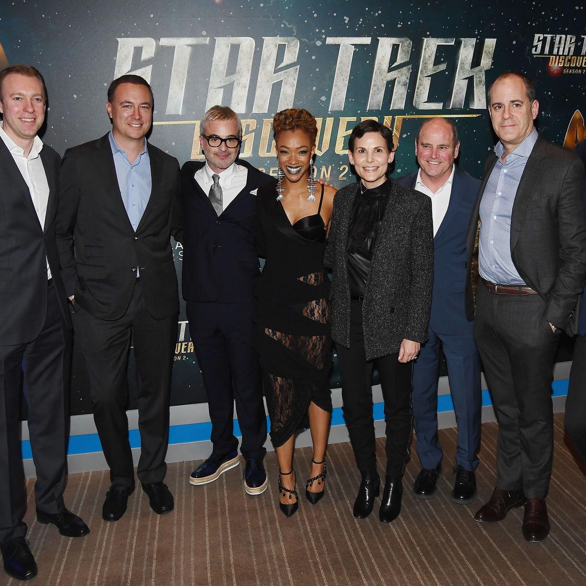 Star Trek Discovery red carpet getty