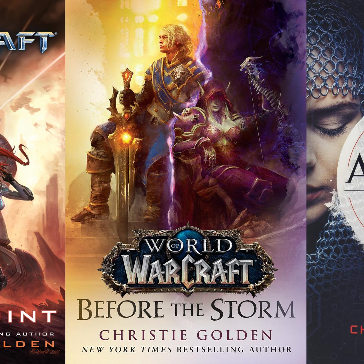 Christie Golden covers