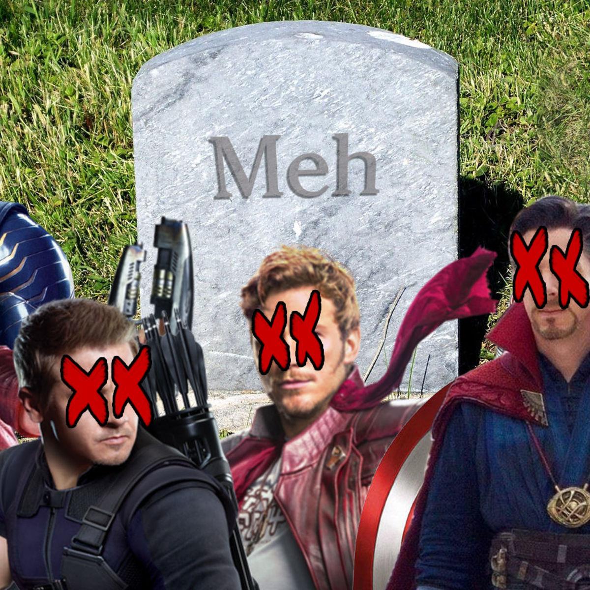 Avengers characters dead