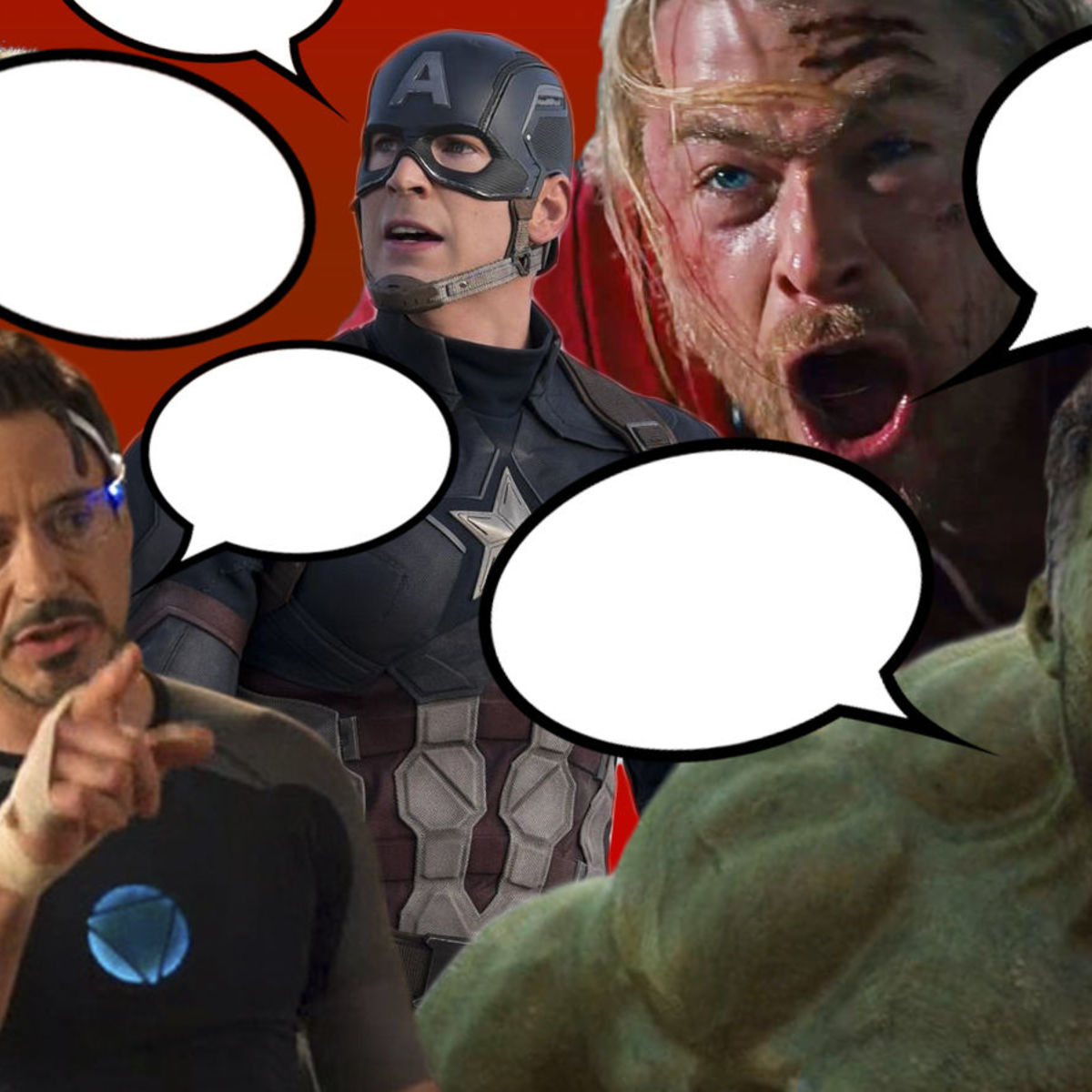 Marvel Cinematic Universe talking