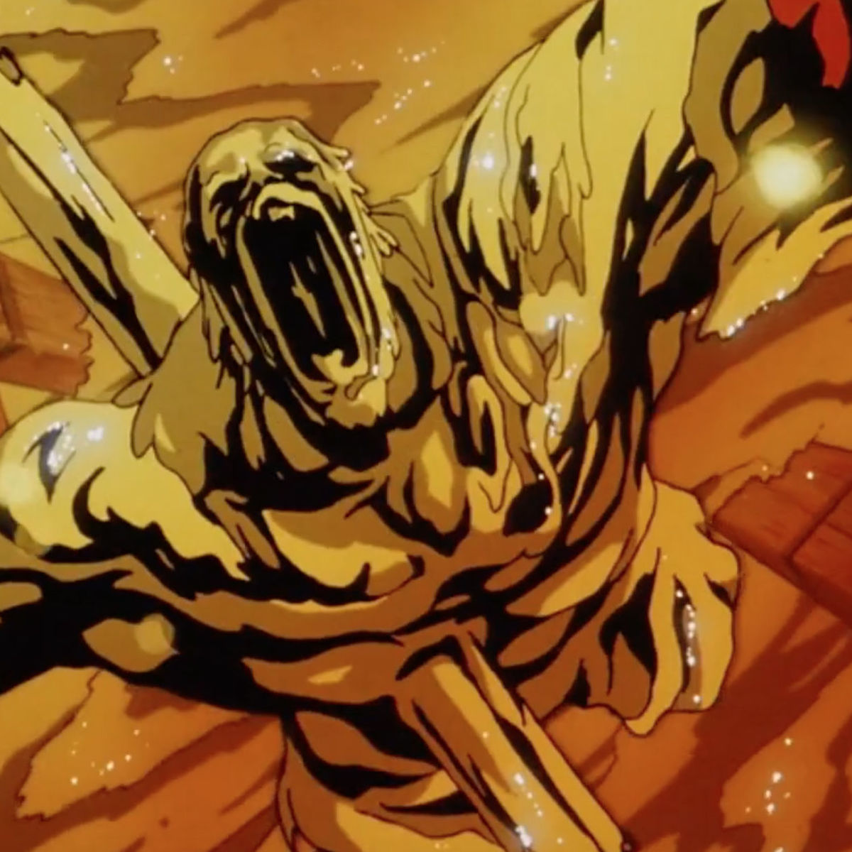 Wtf Moments When Ninja Scroll Drowned A Villain In Molten Gold