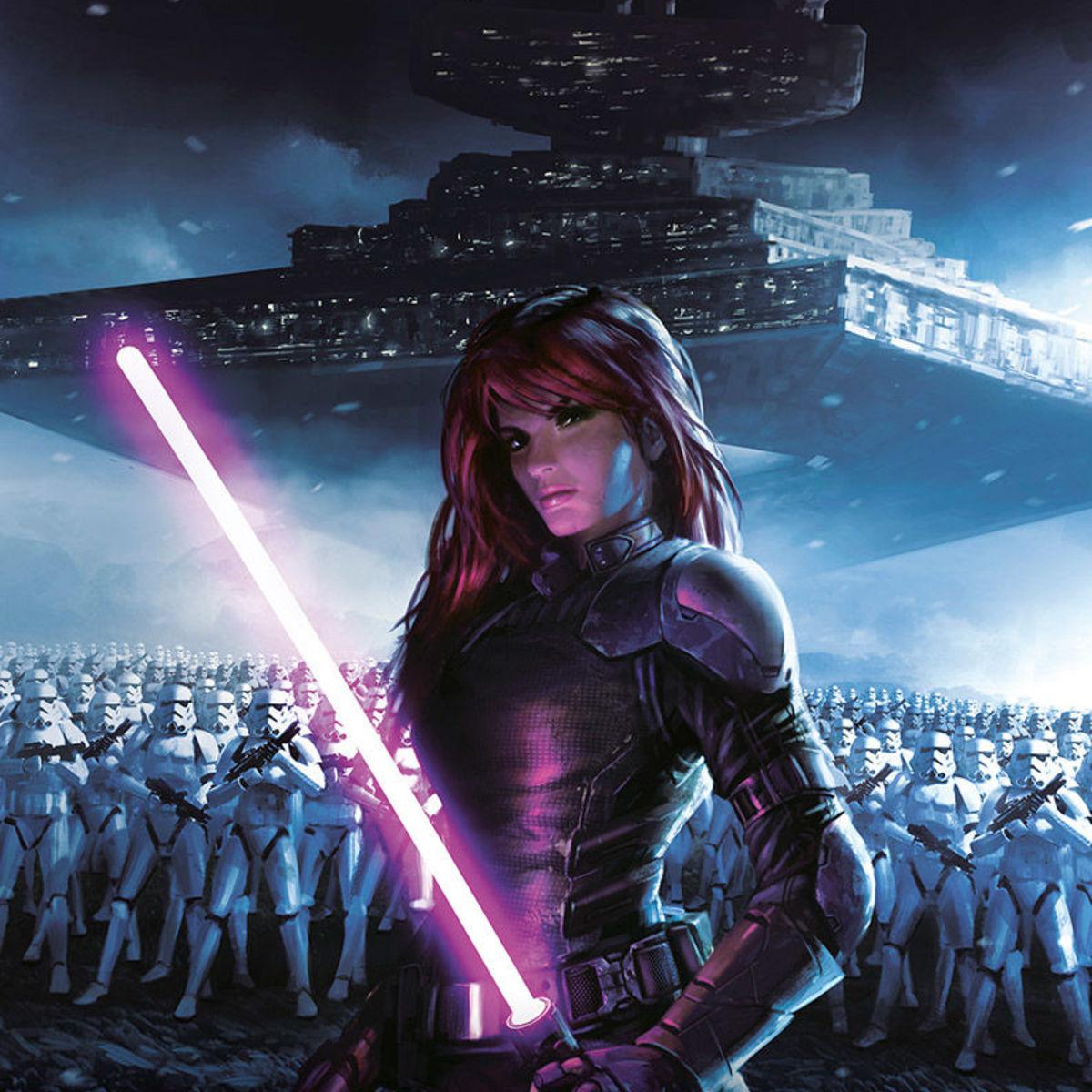 Luke Skywalker And Mara Jade Wedding