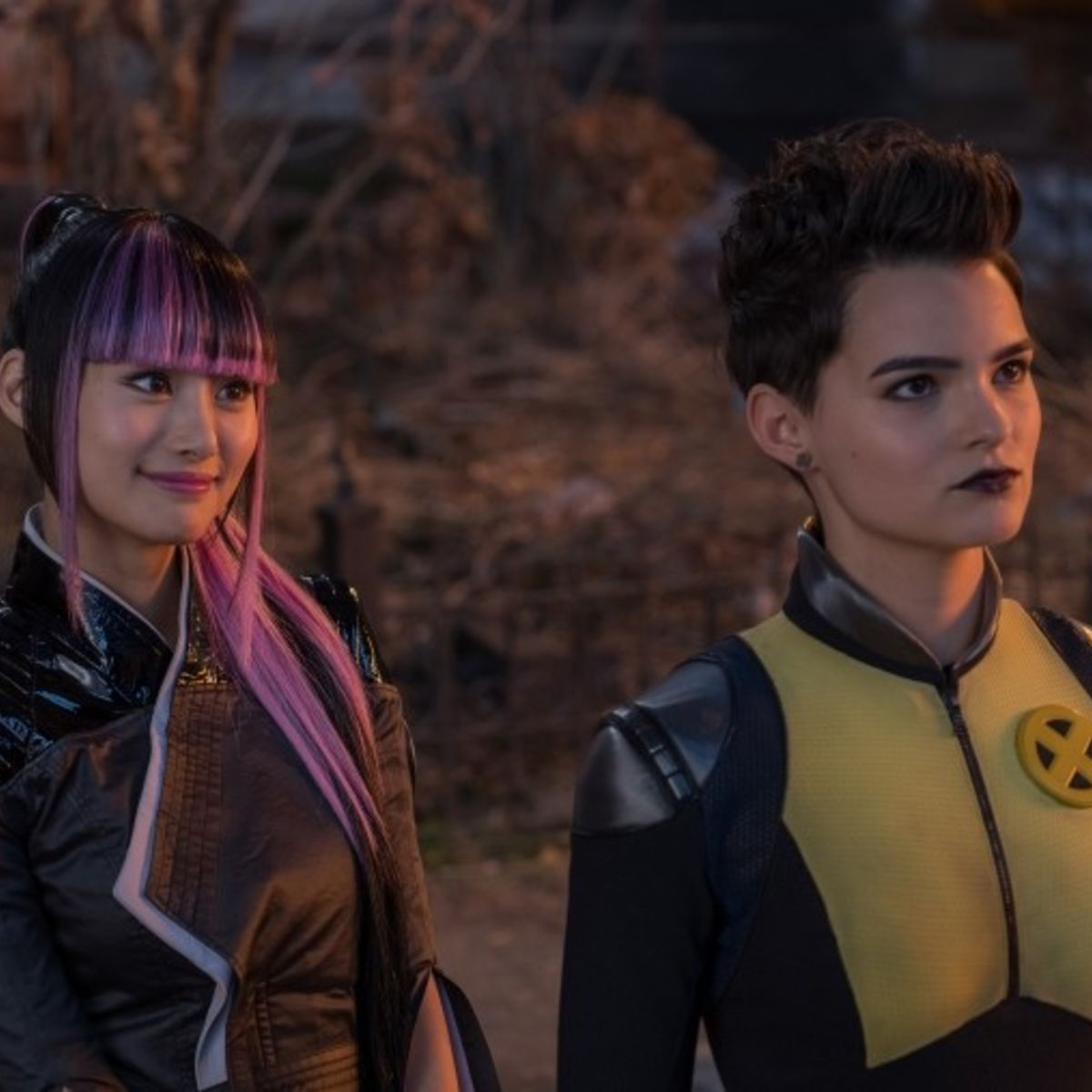 Negasonic Teenage Warhead and Yukio