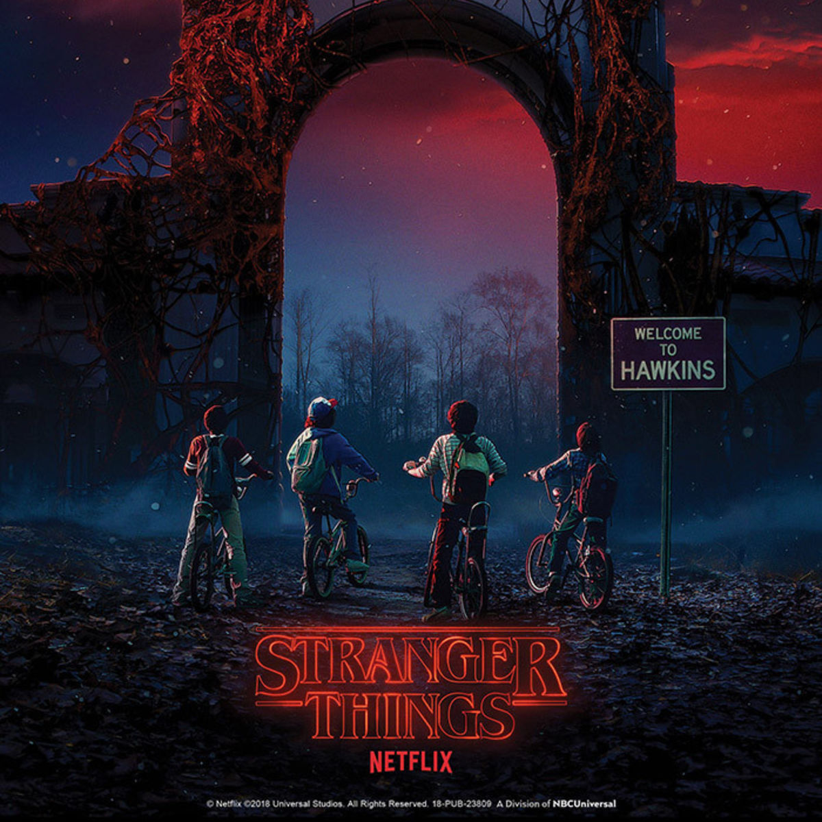 Stranger Things Halloween Horror Nights