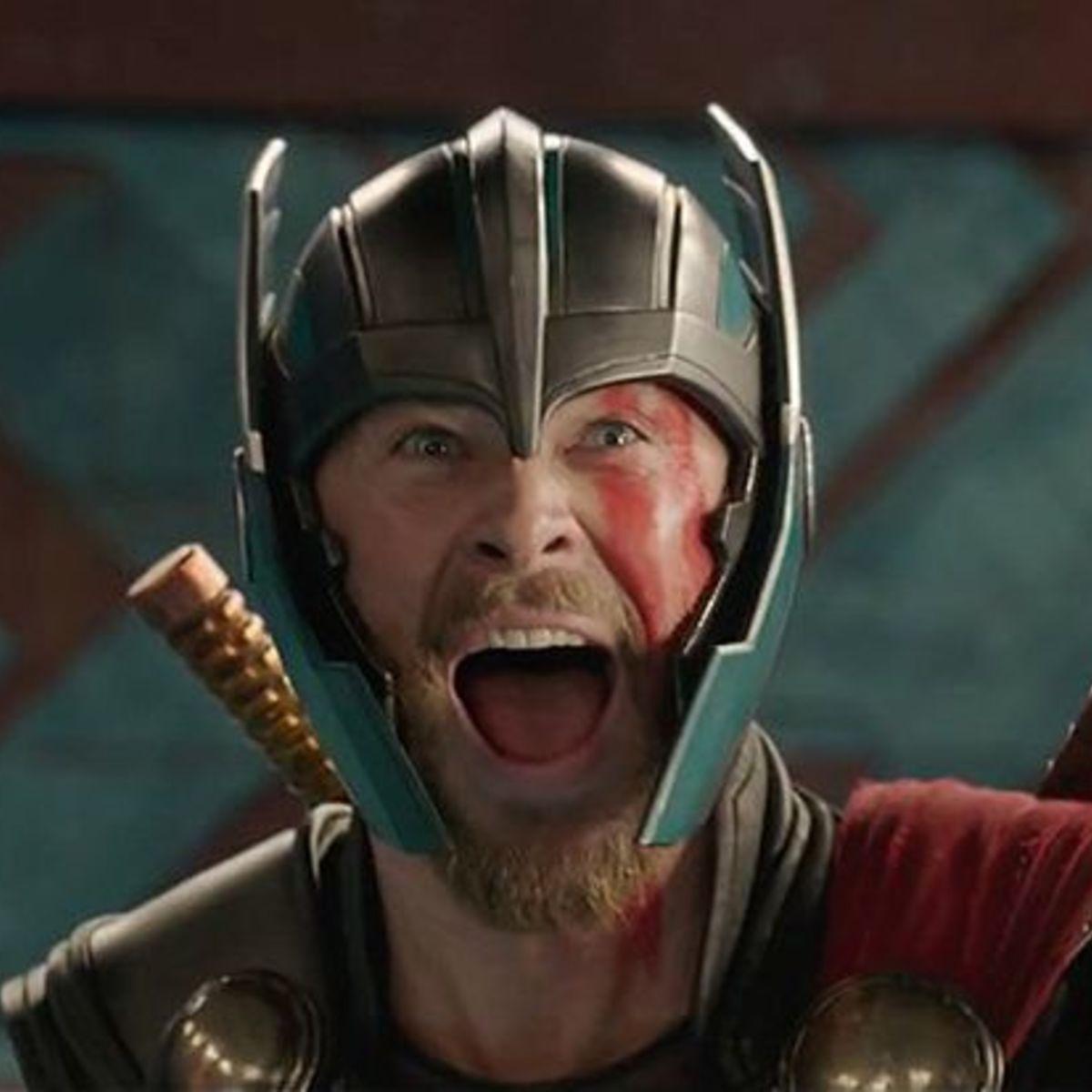 Thor Ragnarok happy thor