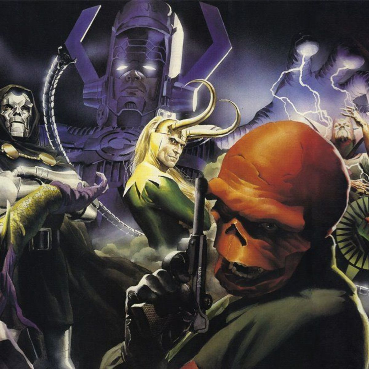 Marvel Villains by Alex Ross - Wizard 42