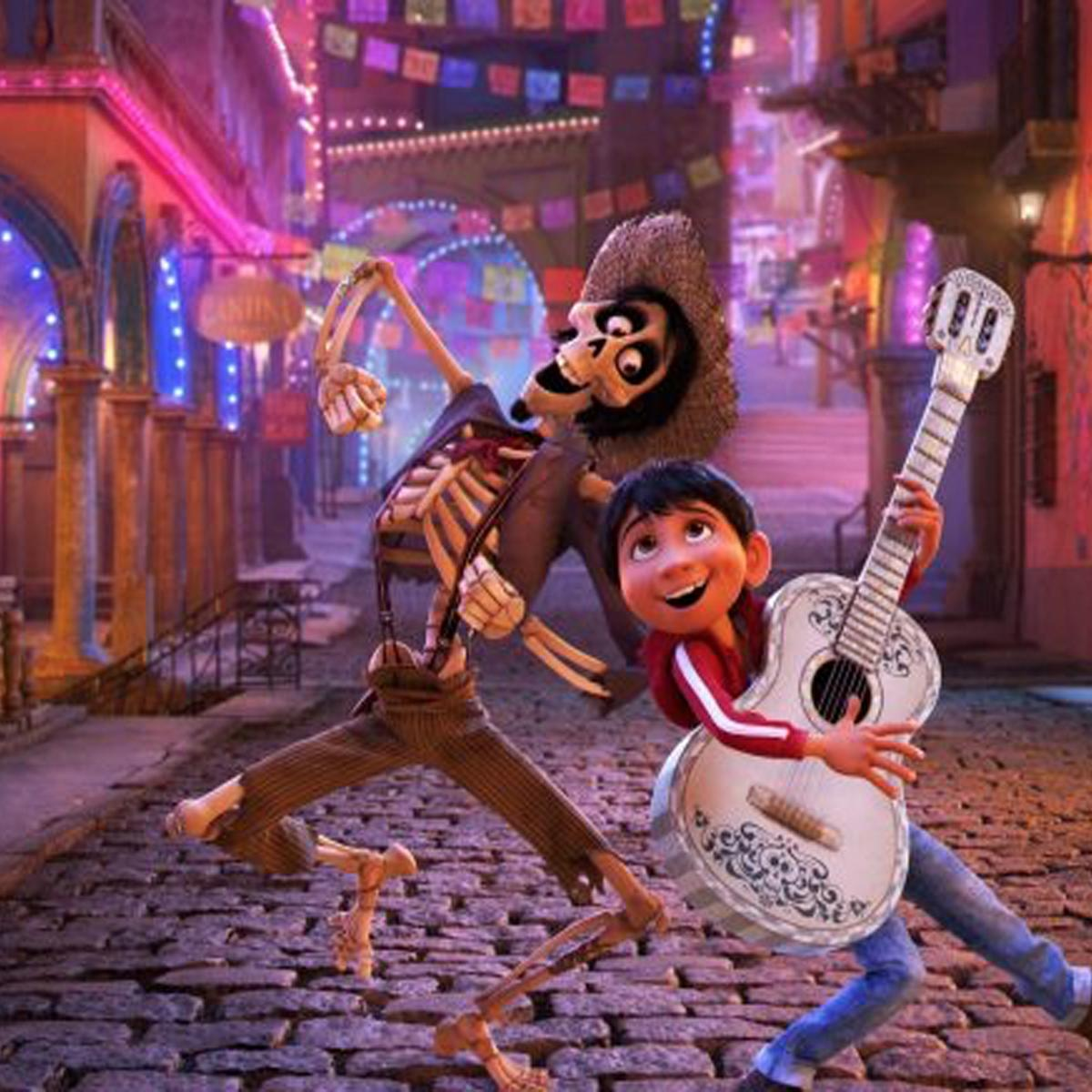 New Coco Clips Showcase Pixars Take On The Land Of Dead