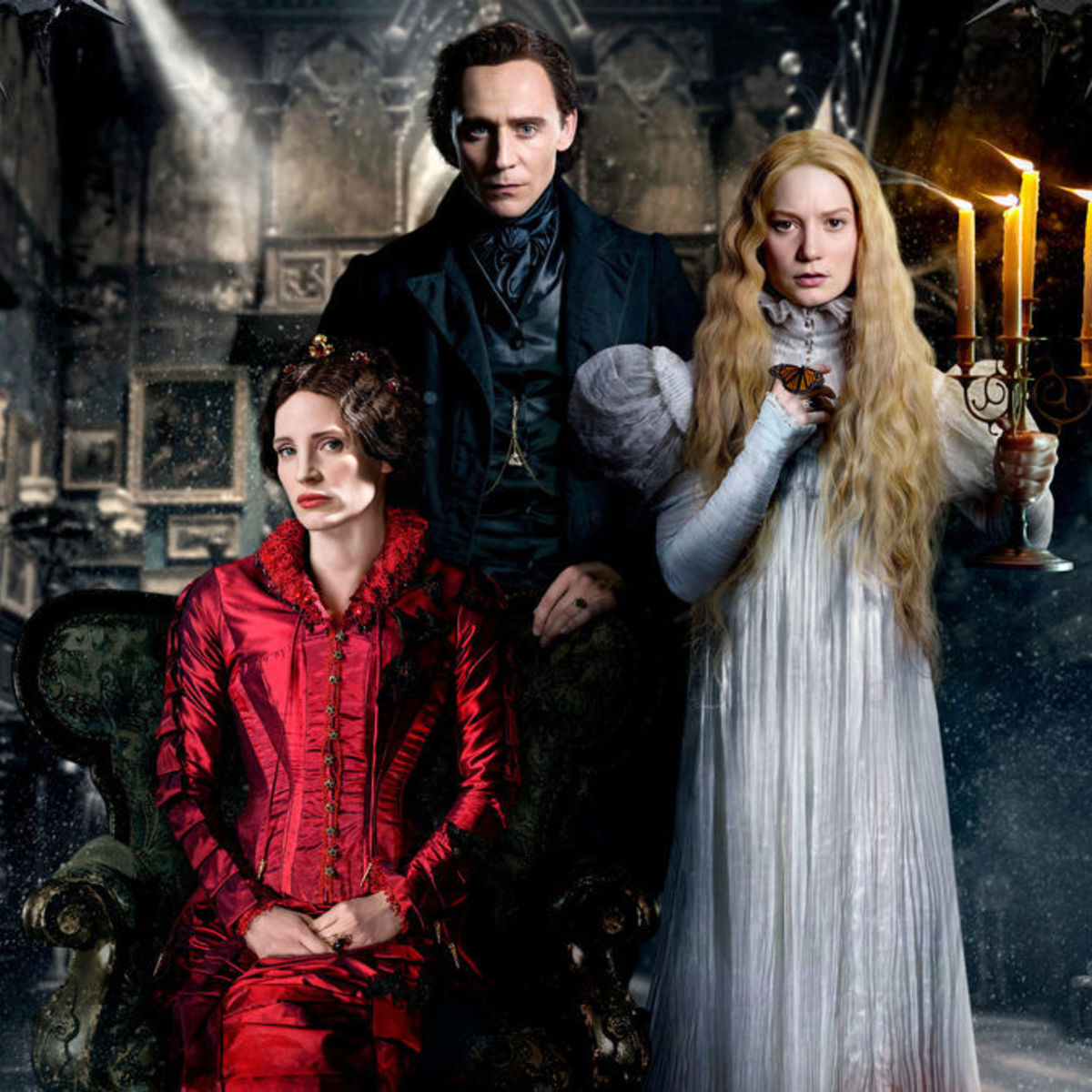The creators of the movie Crimson Peak: actors and roles