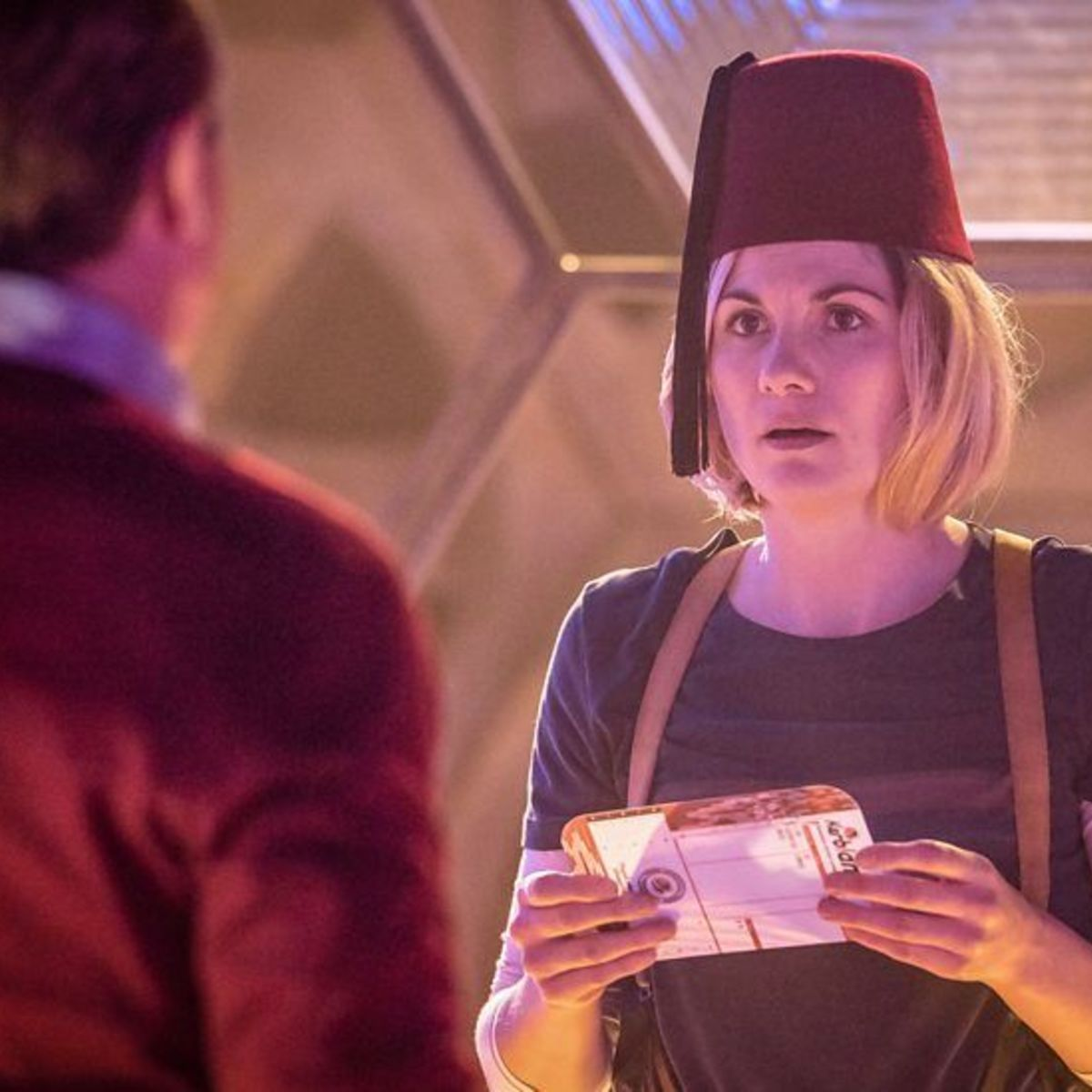 Image result for 13th Doctor Fez