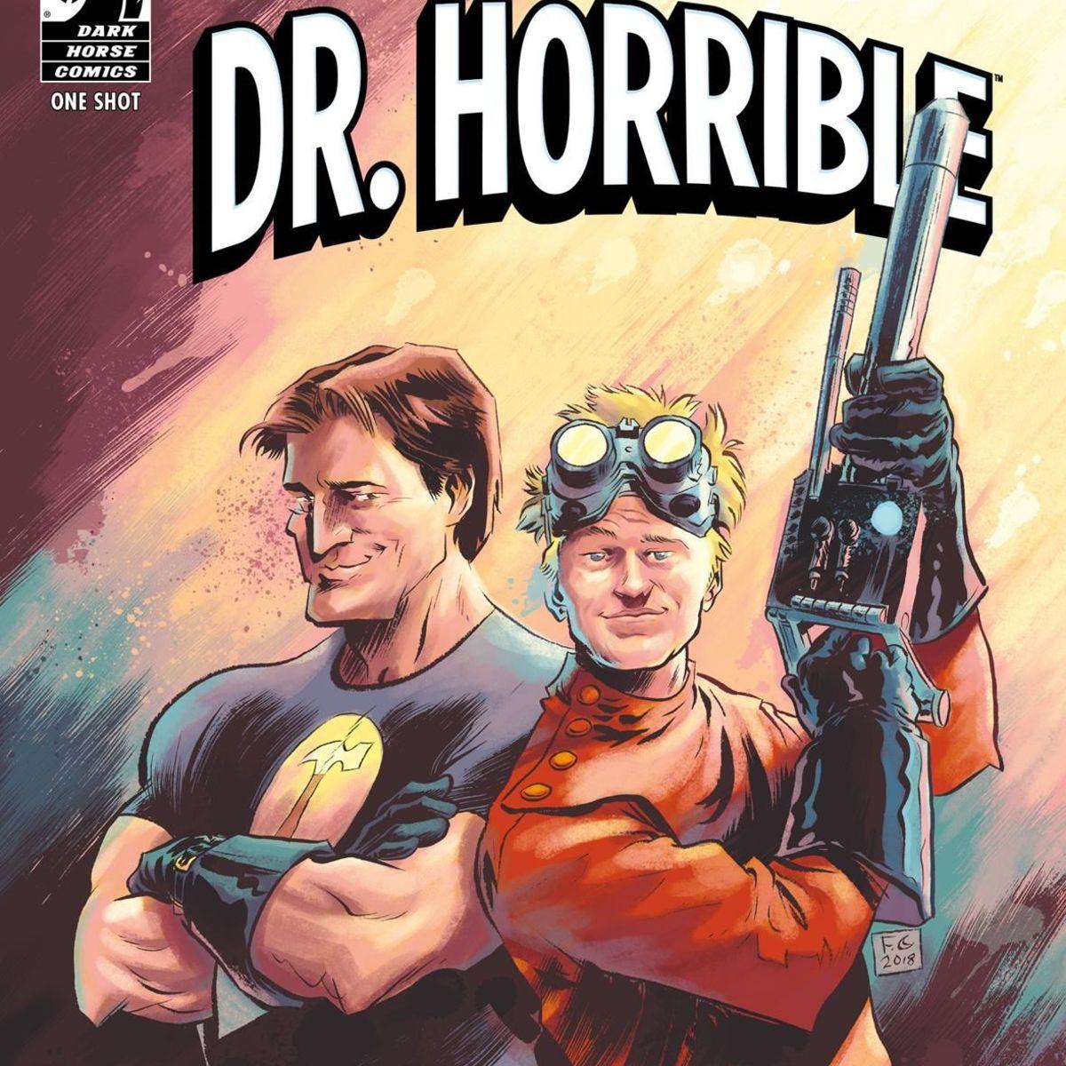 Dr. Horrible Best Friends Forever cover
