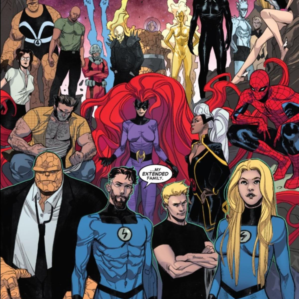 Fantastic Four #2 final page