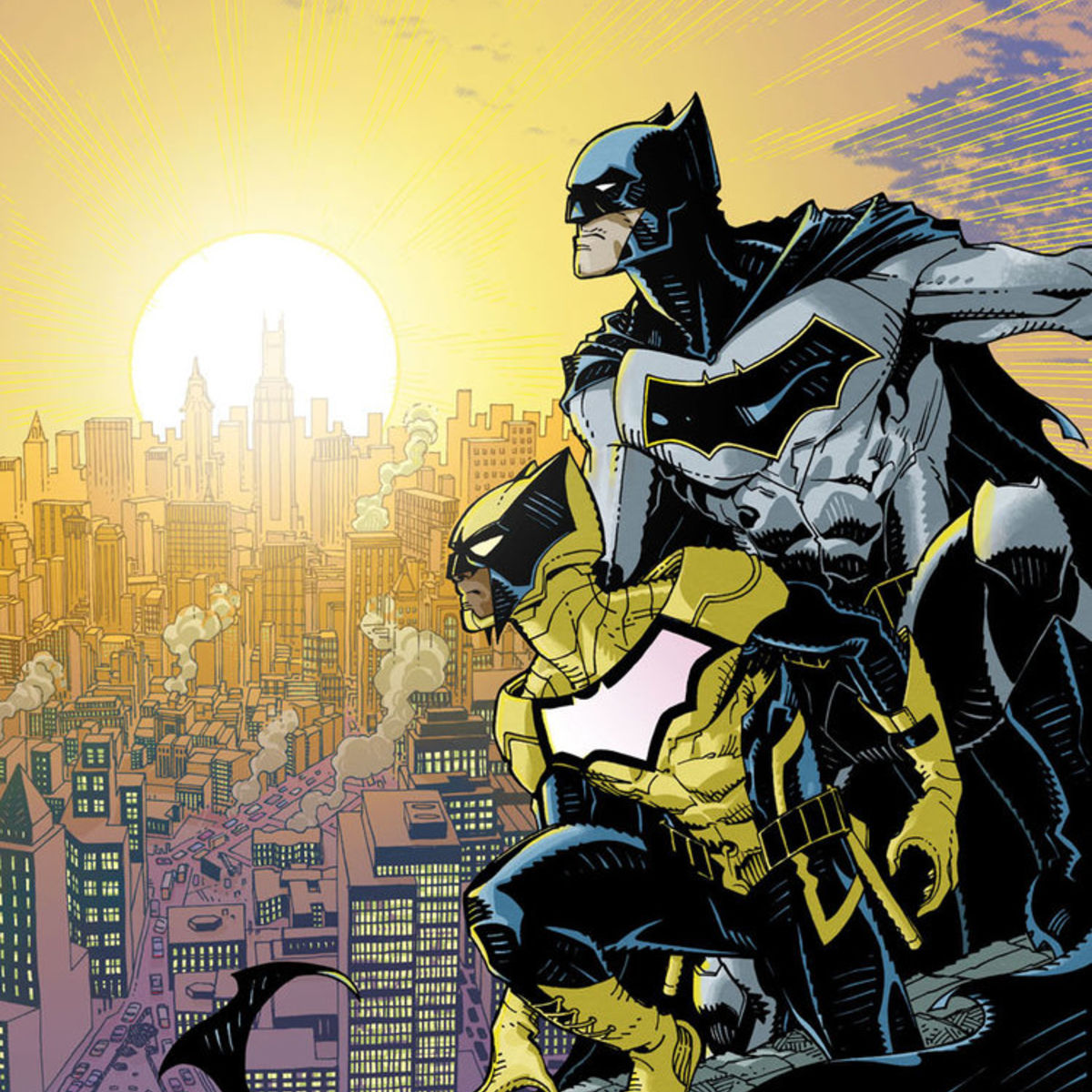 New bat man