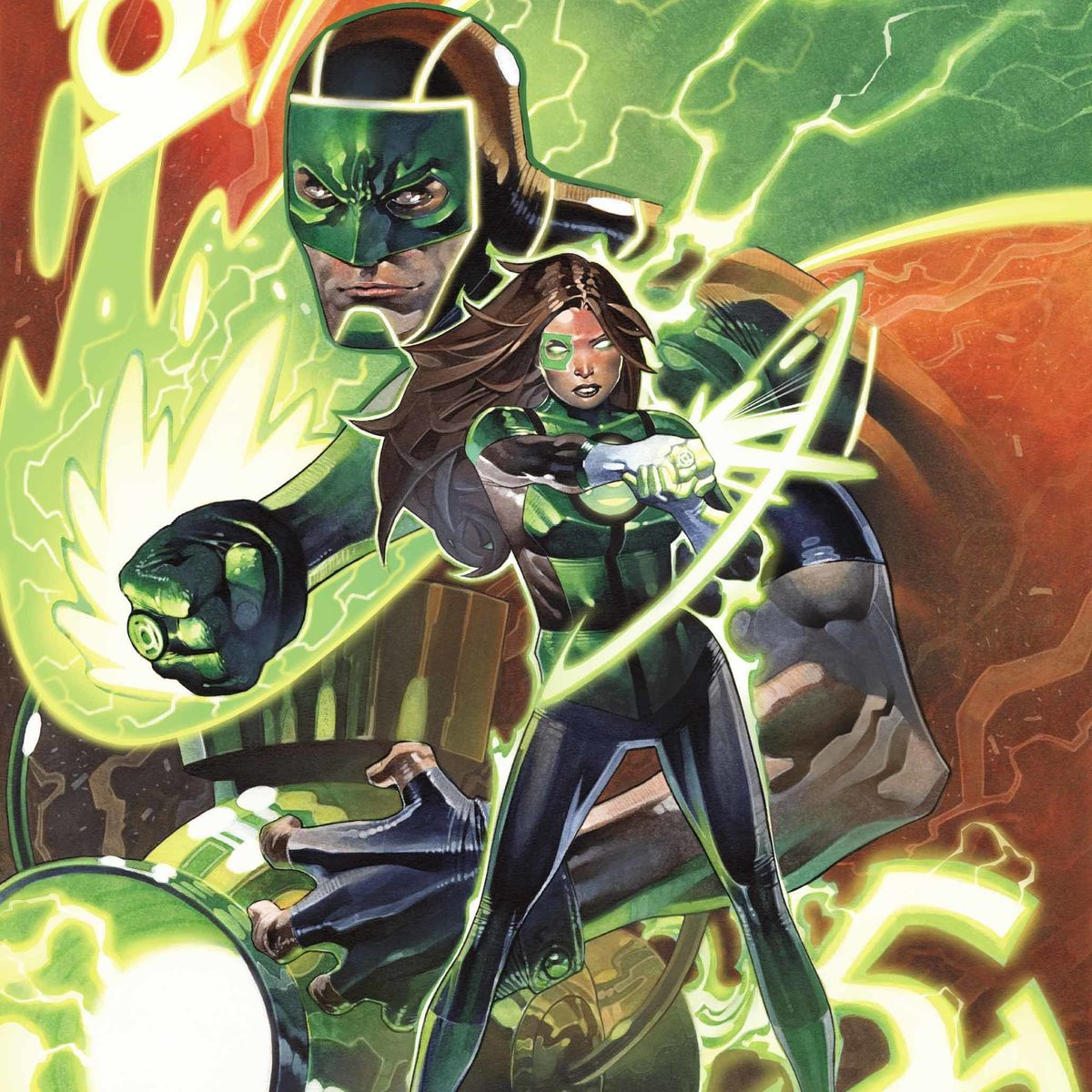Green Lanterns #50 Variant Hero