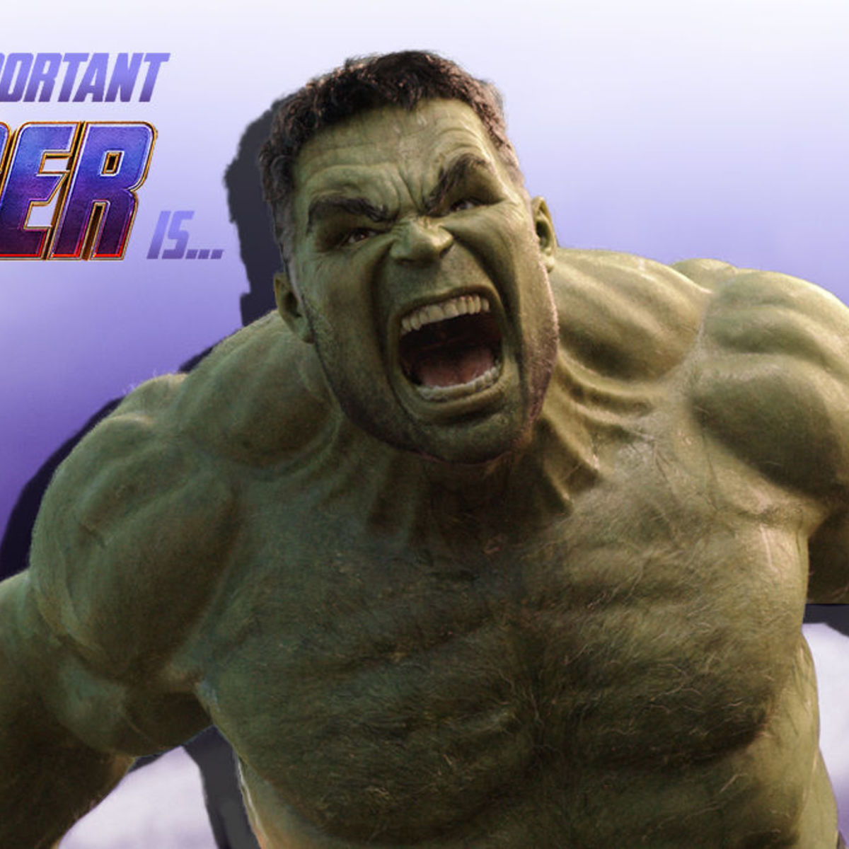 Most Important Avenger The Hulk