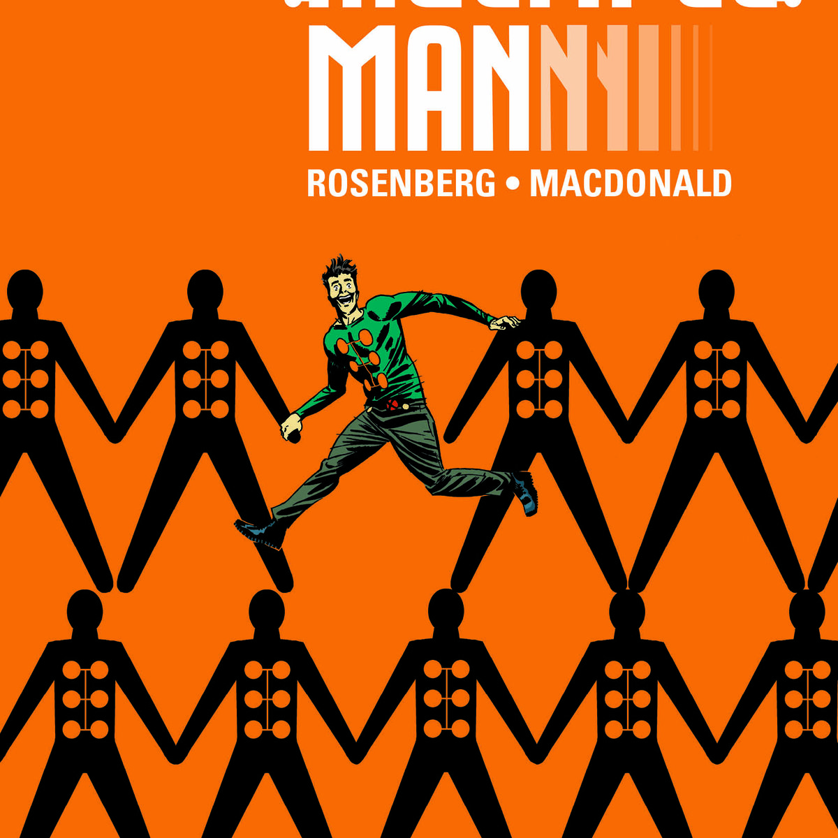 Cover for Multiple Man #1 from Marvel