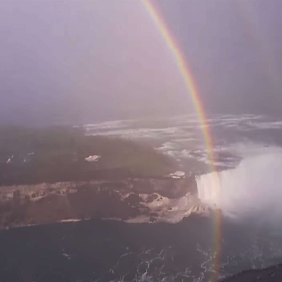 Rainbow over Niagara Falls