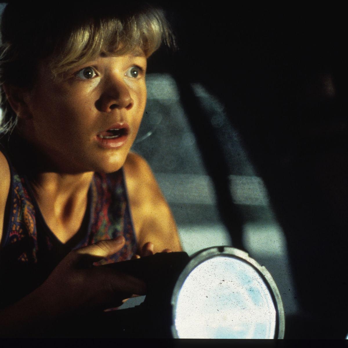Ariana Richards as Lex in Jurassic Park