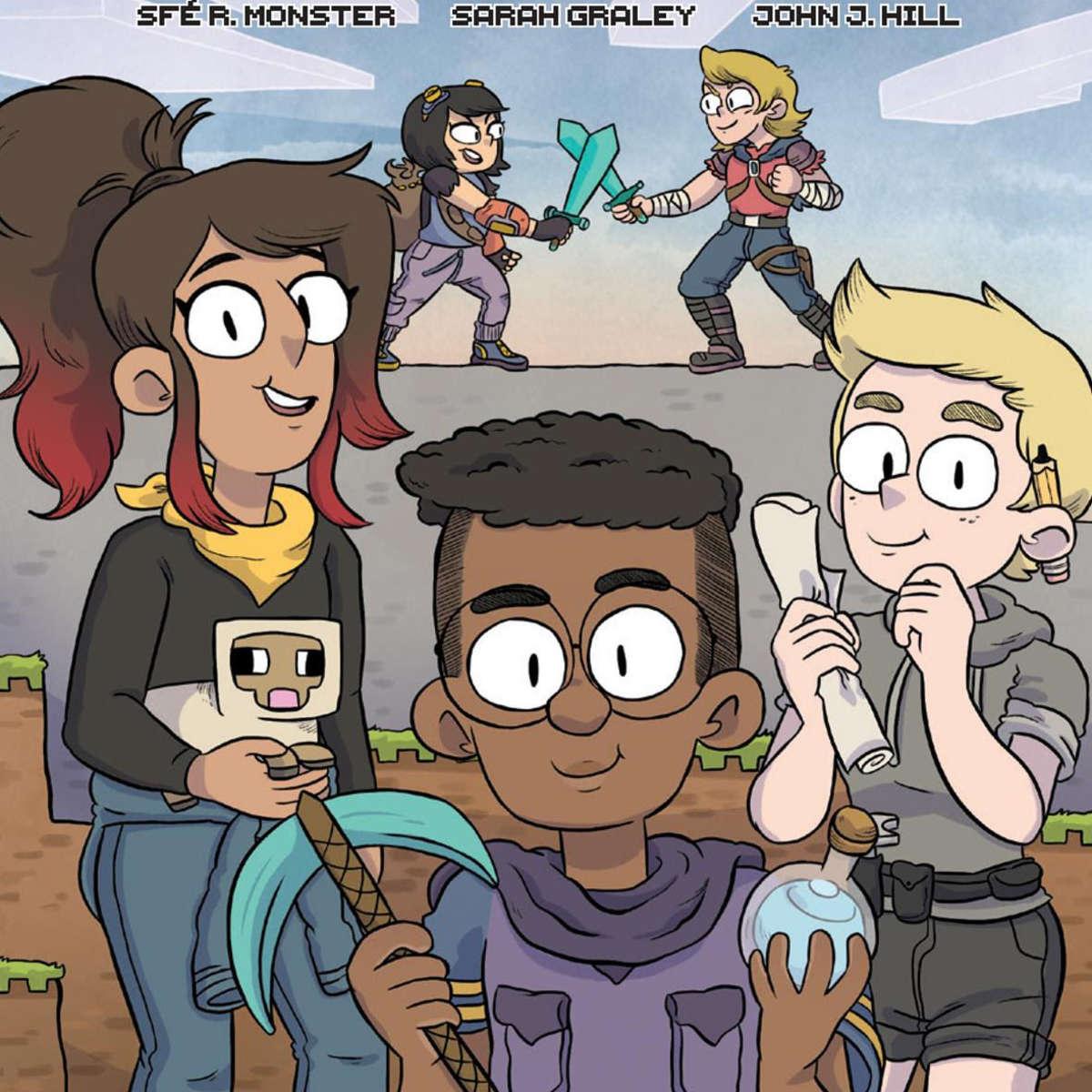 Minecraft comic cover