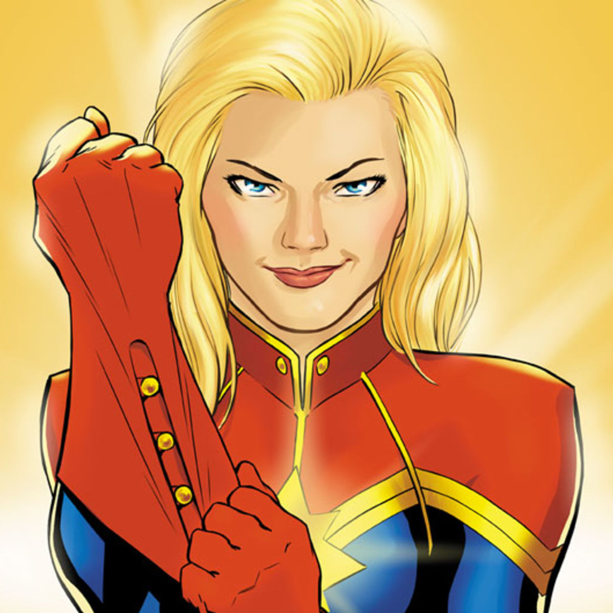 The women of the Captain Marvel film