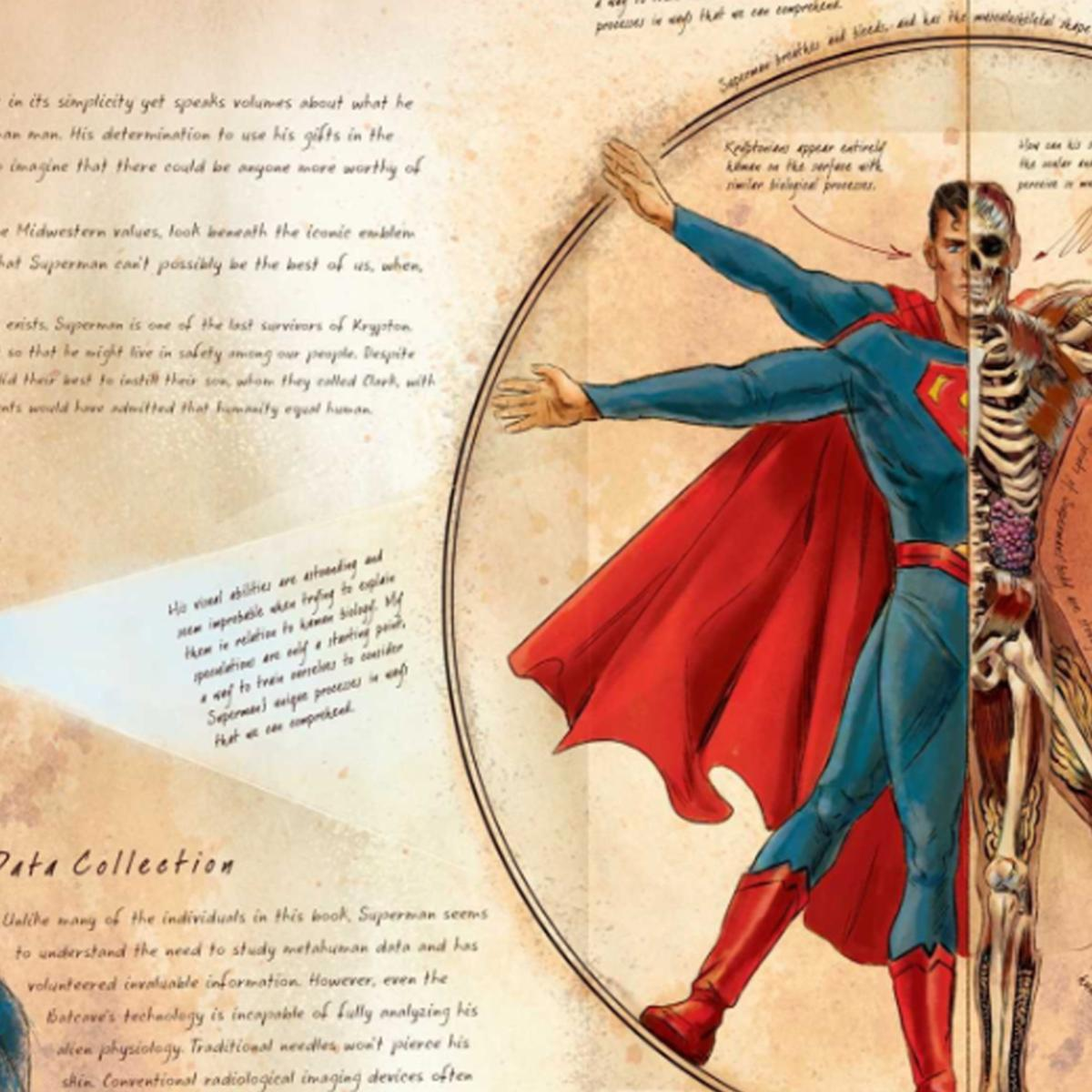 Exclusive Dcs Anatomy Of A Metahuman Is A Greys Anatomy For