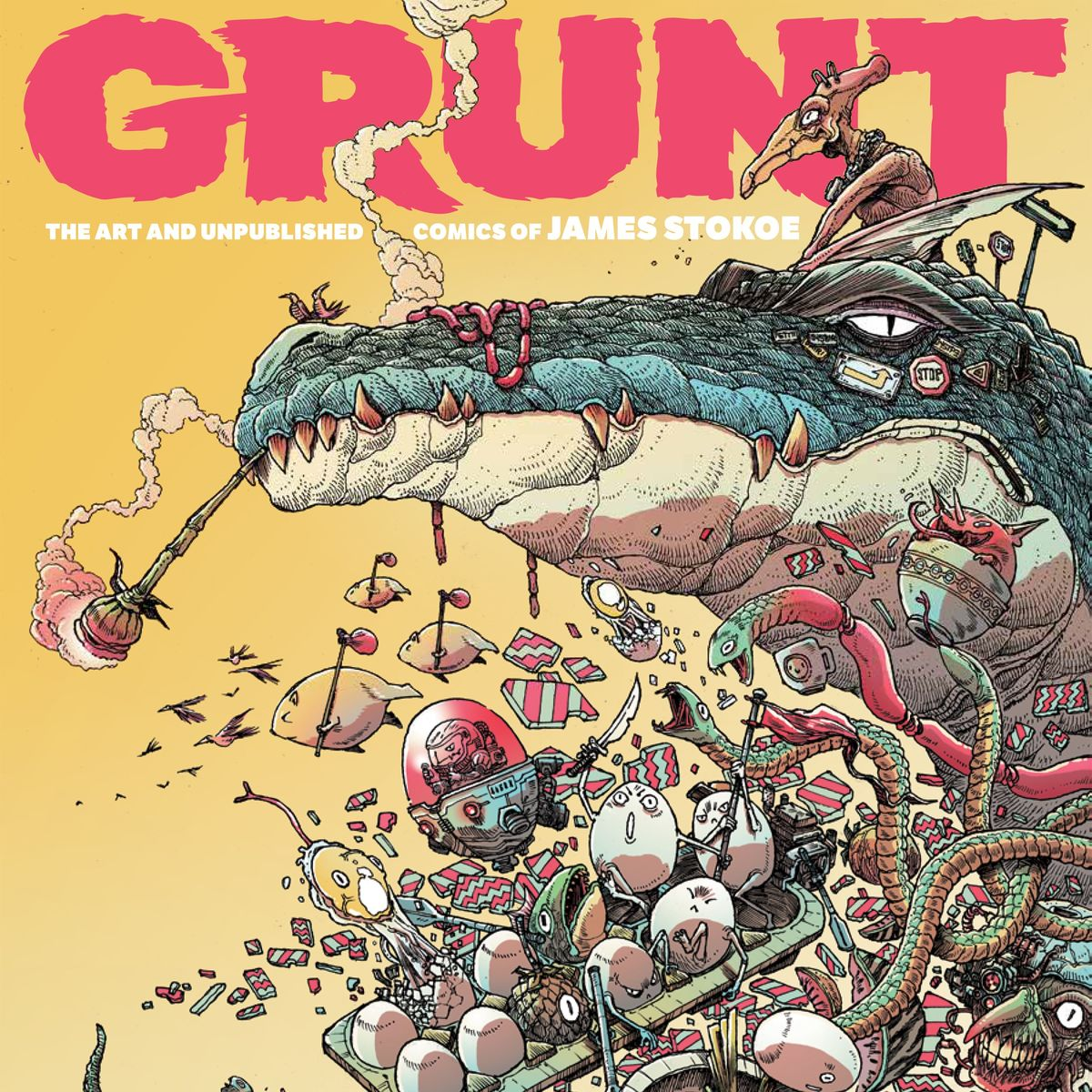 Grunt - Art of James Stokoe HC Cover