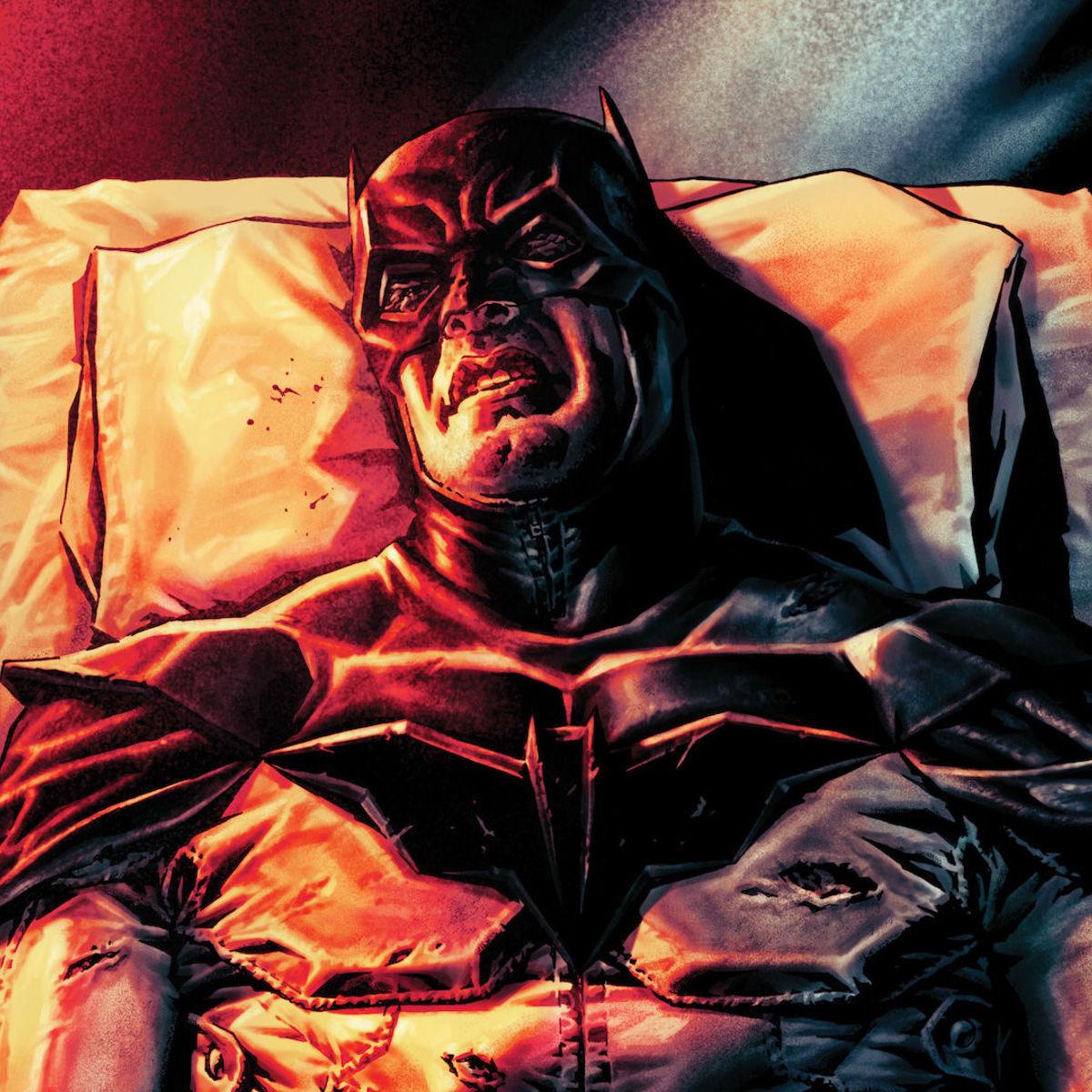 Batman Damned Hero