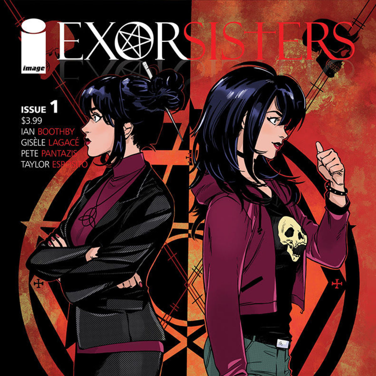 Exorsisters #1 cover