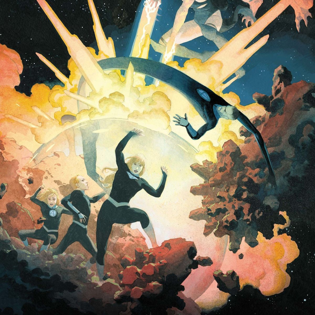 Fantastic Four #2 cover
