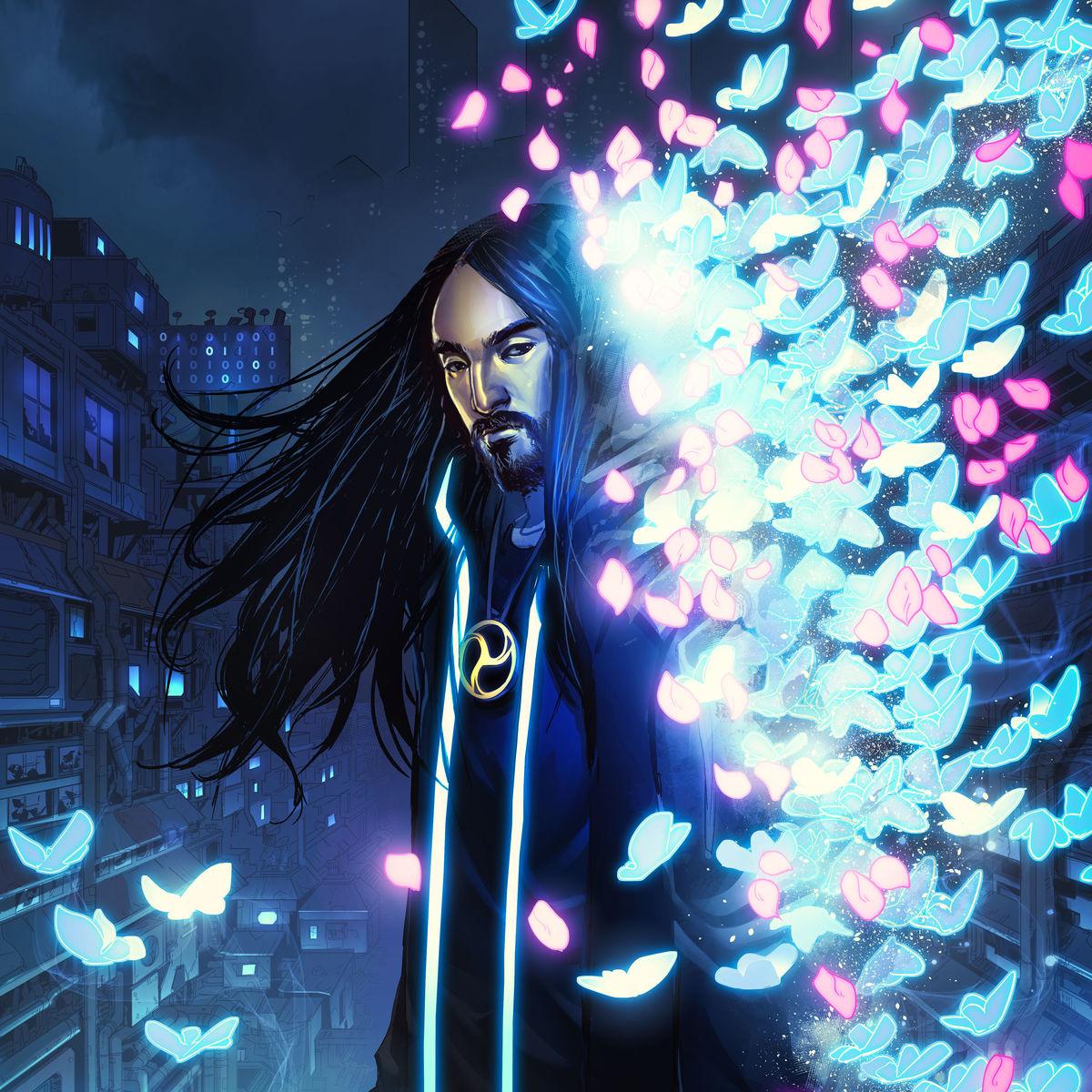 Neon Future Cover Steve aoki