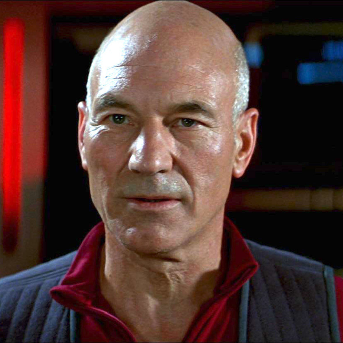 PATRICK STEWART's First STAR TREK Revival Photo