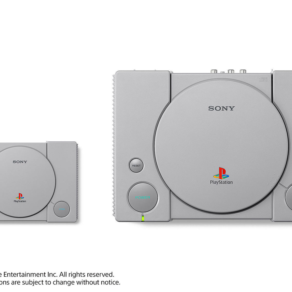 Why Get a PlayStation When You Can Get The PLAYSTATION CLASSIC