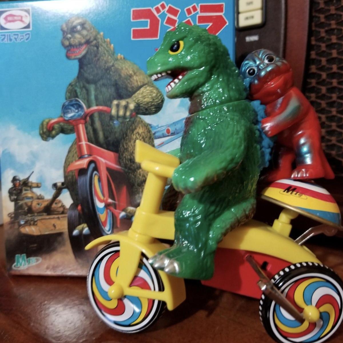 Godzilla minya tricycle