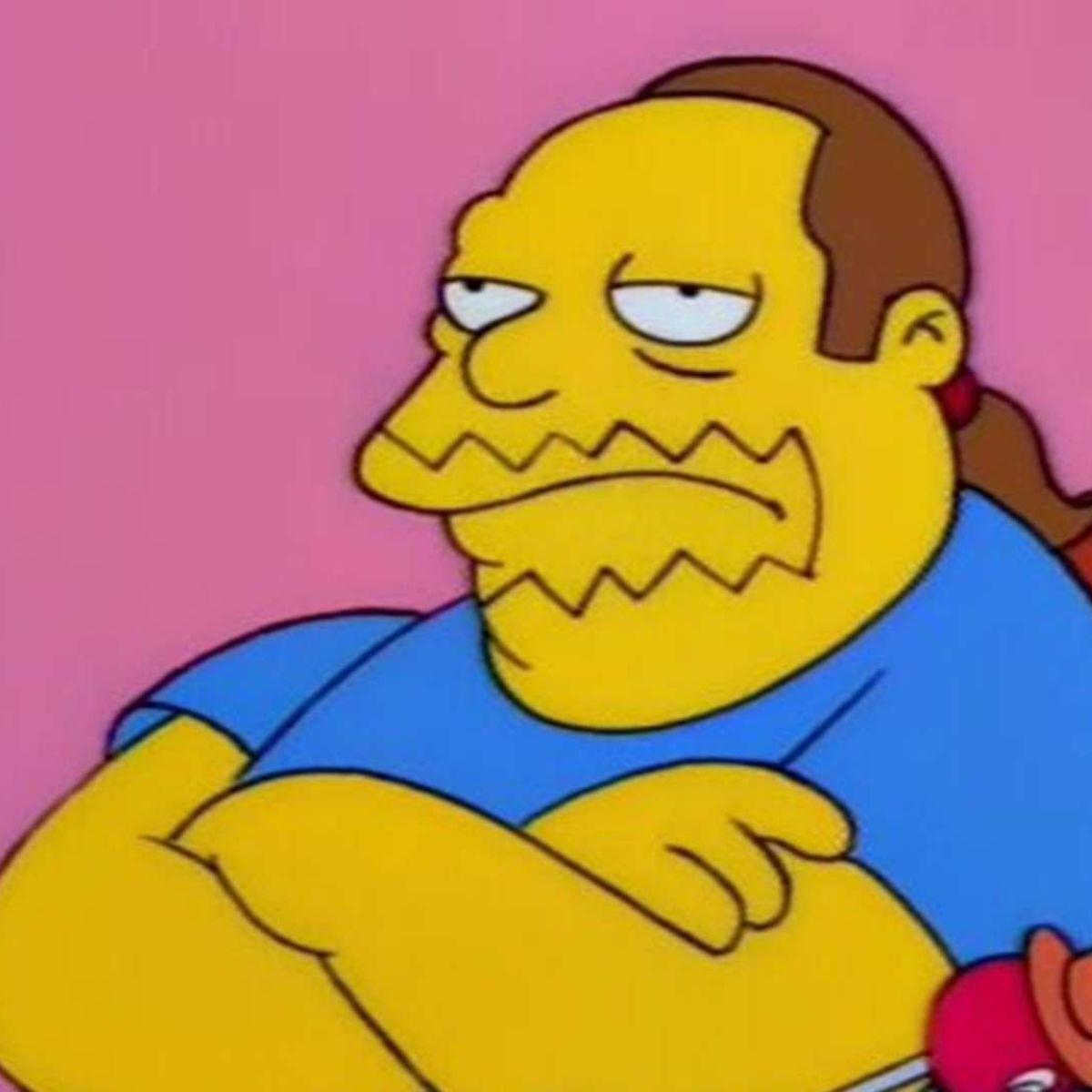Simpsons Comic Book Guy