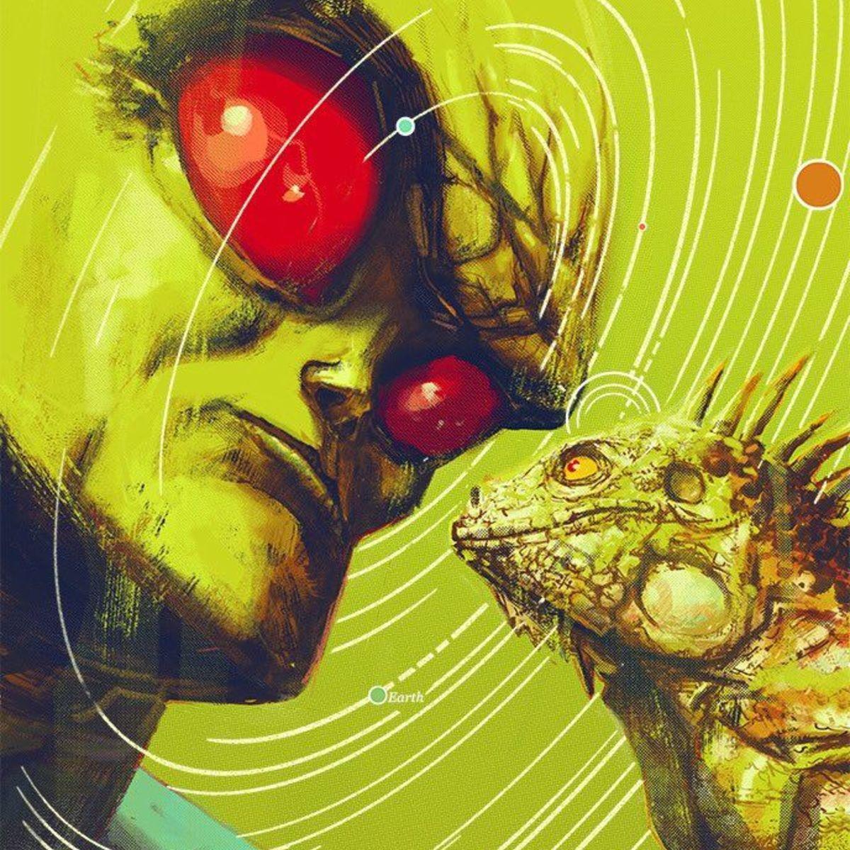 Martian Manhunter Cover