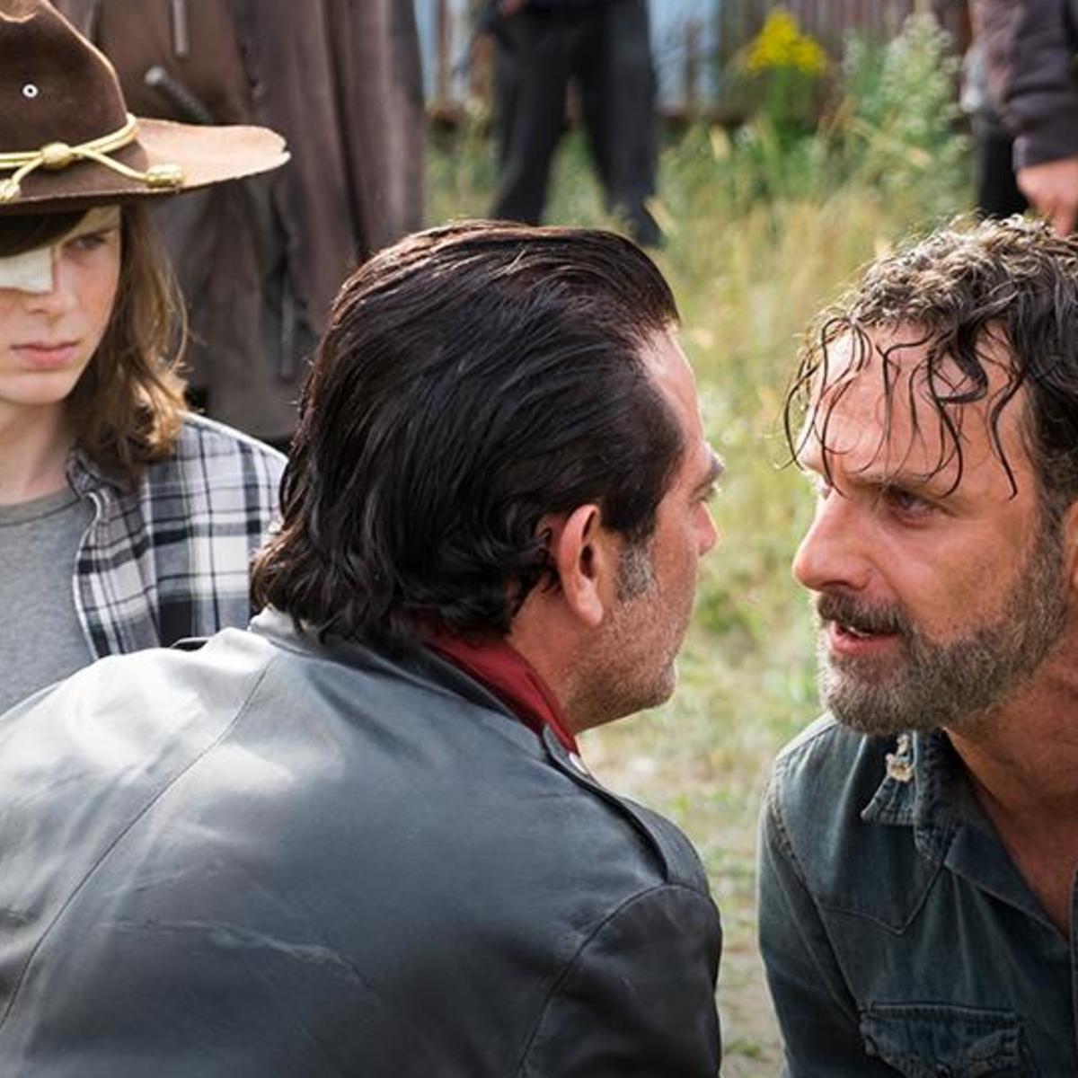 The Walking Dead Andrew Lincoln, Jeffrey Dean Morgan, Chandler Riggs