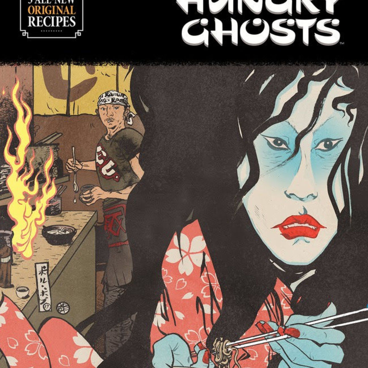 Hungry Ghosts cover
