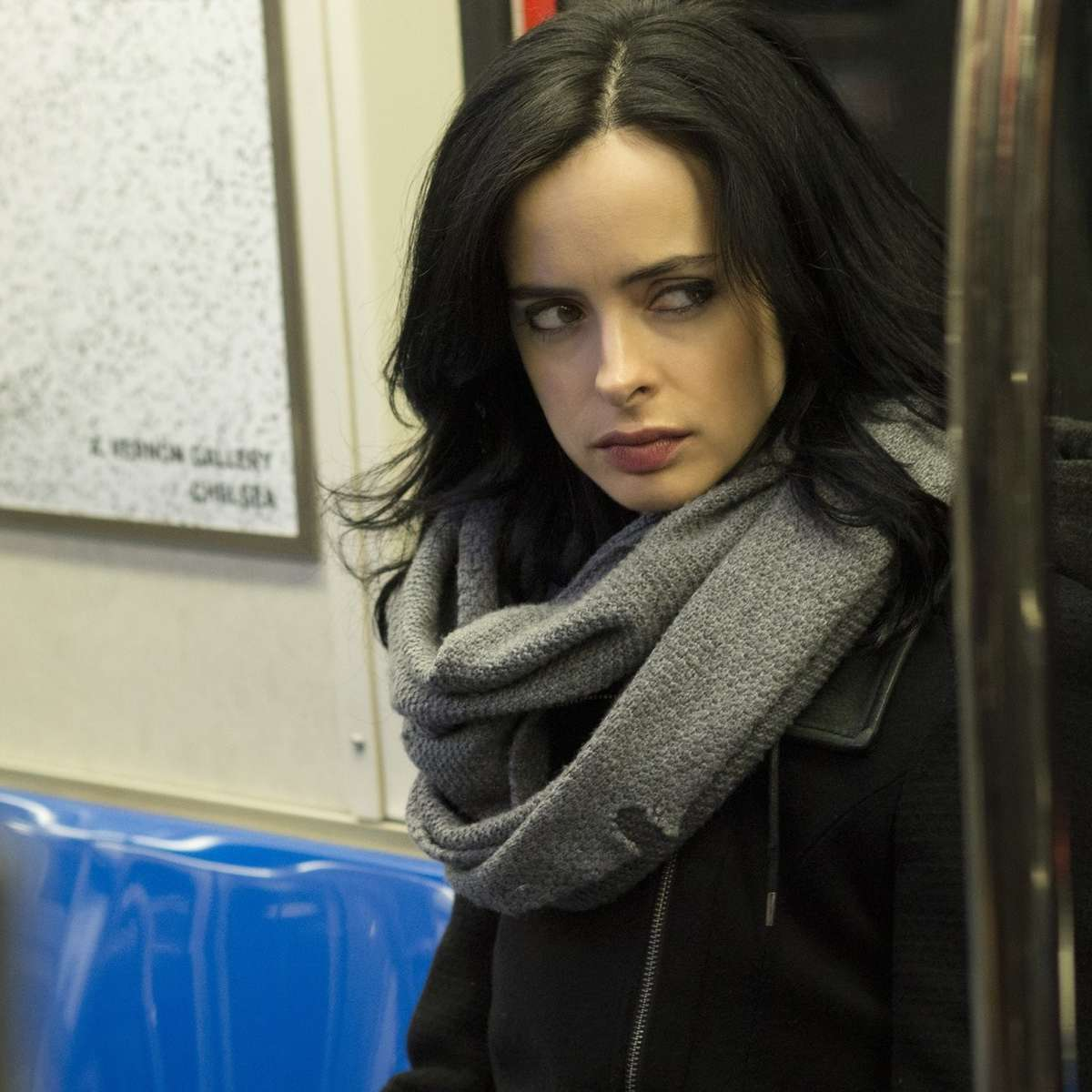 Jessica Jones, subway