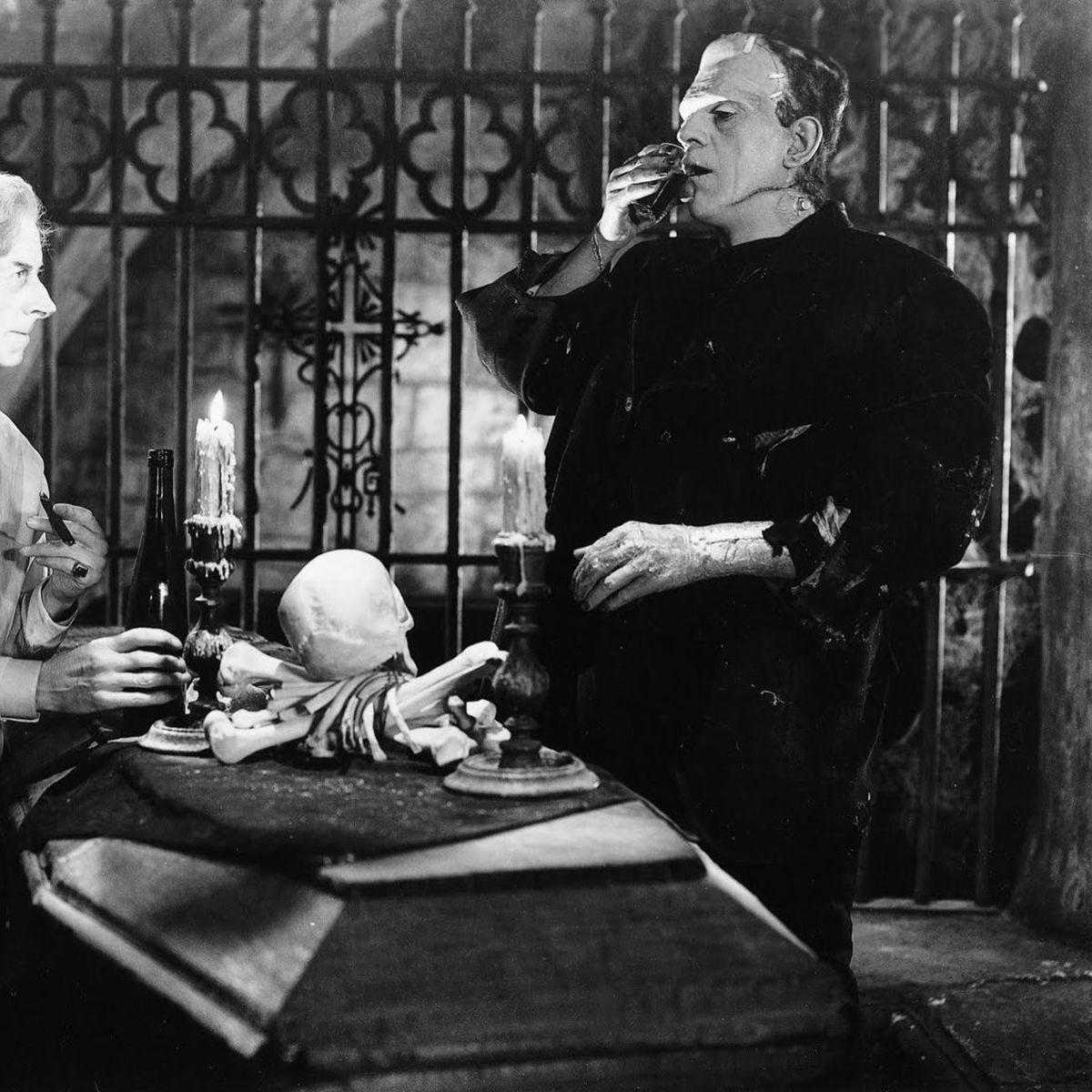 Karloff Bride of Frankenstein