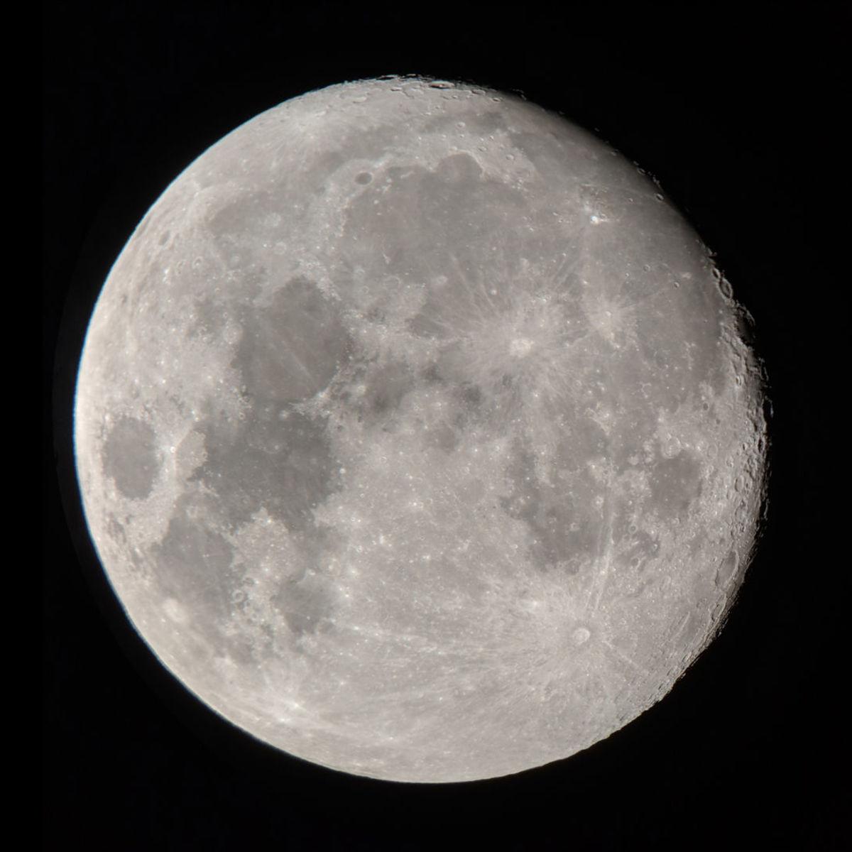 Moons can have moons, but it isn't easy. Credit: Moon: Phil Plait; Vesta: NASA/JPL-Caltech/UCAL/MPS/DLR/IDA