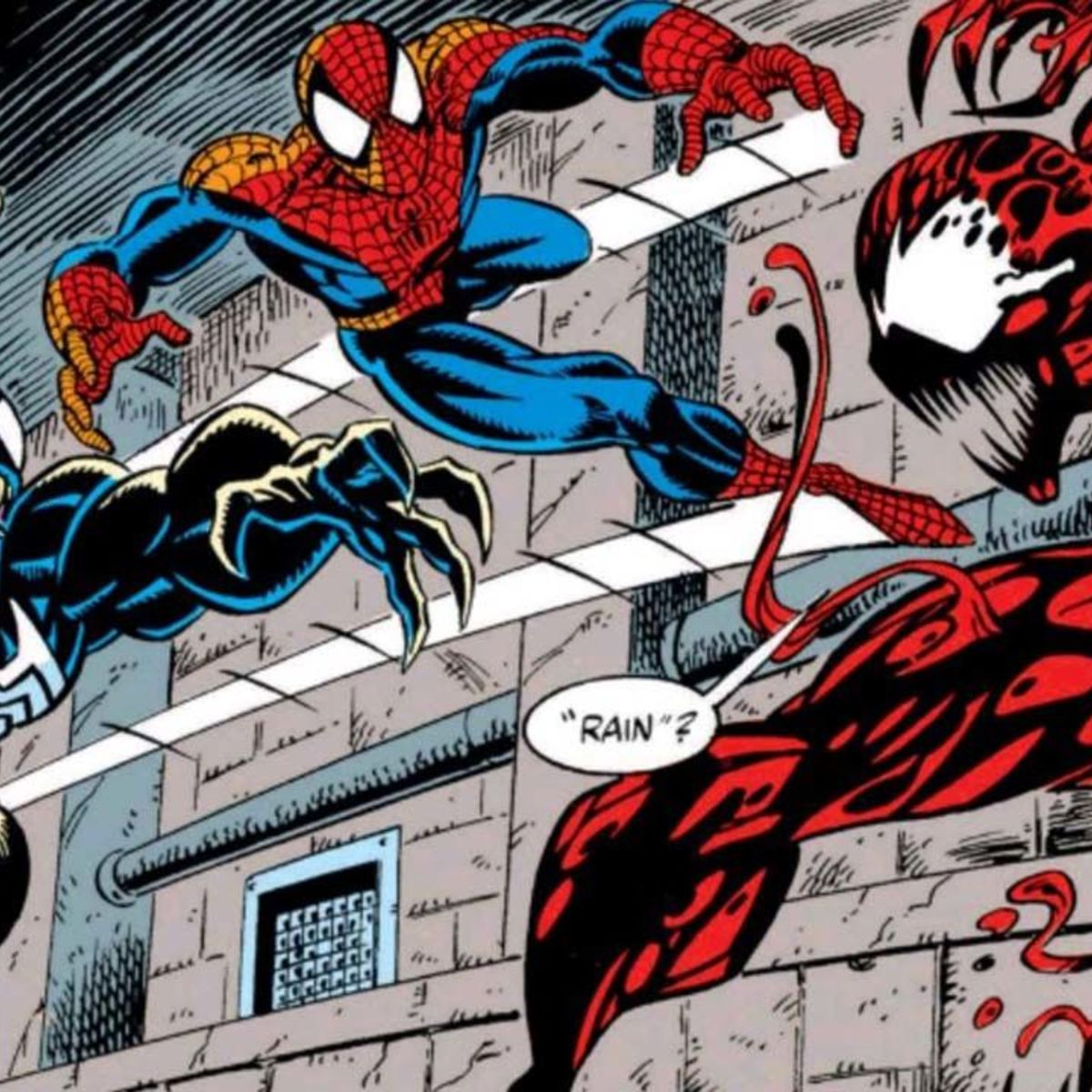 venom artist and carnage creator mark bagley looks back on his